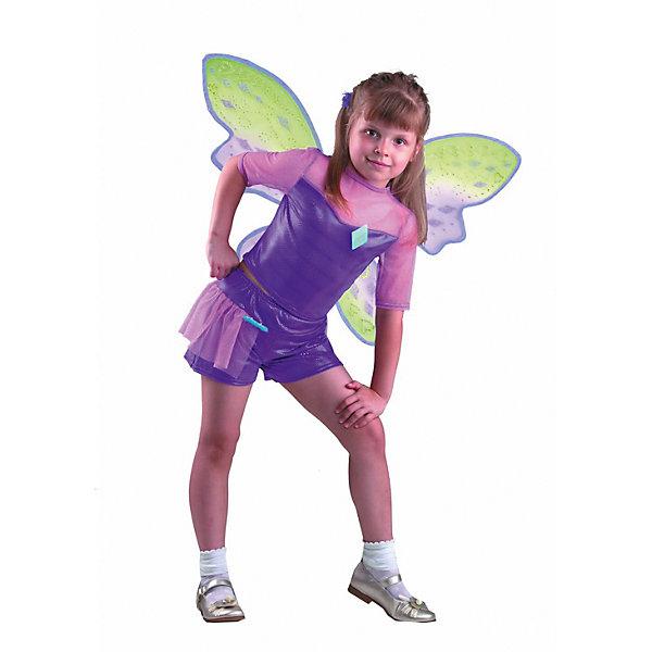 Карнавальный костюм Текна, БатикКарнавальные костюмы для девочек<br>Карнавальный костюм Текна, Батик<br><br>Характеристики:<br><br>• Материал: 100% полиэстер.<br>• Цвет: разноцветный.<br><br>В комплекте:<br><br>• шорты;<br>• топ;<br>• крылья;<br>• парик;<br>• перчатки;<br>• гольфы;<br>• брошь «ромб»;<br>• брошь «звезда».<br><br>Ваша девочка поклонница историй о феях-волшебницах Винкс? Тогда этот костюм для неё!  Костюм Текны - одной из главных героинь сказочной истории - воссоздаёт образ персонажа в мельчайших деталях. Фиолетовый парик, легкие крылышки – все это поможет вашей девочке перевоплотиться в фею Текну. В таком карнавальном костюме, «Текна»,  ваша девочка получит максимальное удовольствие от праздника и подарит радость окружающим!<br><br>Карнавальный костюм Текна, Батик можно купить в нашем интернет – магазине.<br><br>Ширина мм: 500<br>Глубина мм: 50<br>Высота мм: 700<br>Вес г: 600<br>Цвет: белый<br>Возраст от месяцев: 60<br>Возраст до месяцев: 72<br>Пол: Женский<br>Возраст: Детский<br>Размер: 30<br>SKU: 5092537