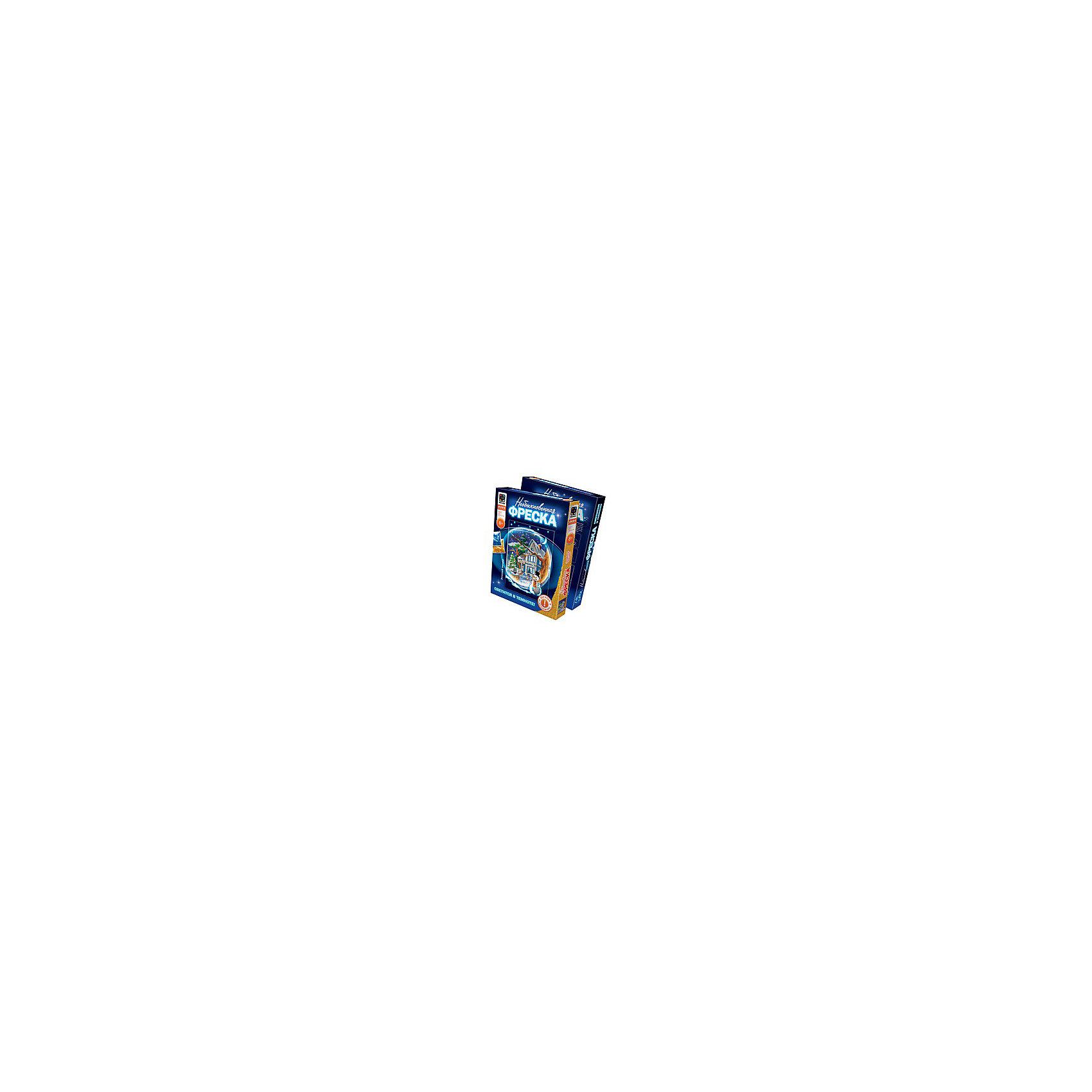 Фантазер Необыкновенная фреска Зимний вечер фантазер картина из ниток птица