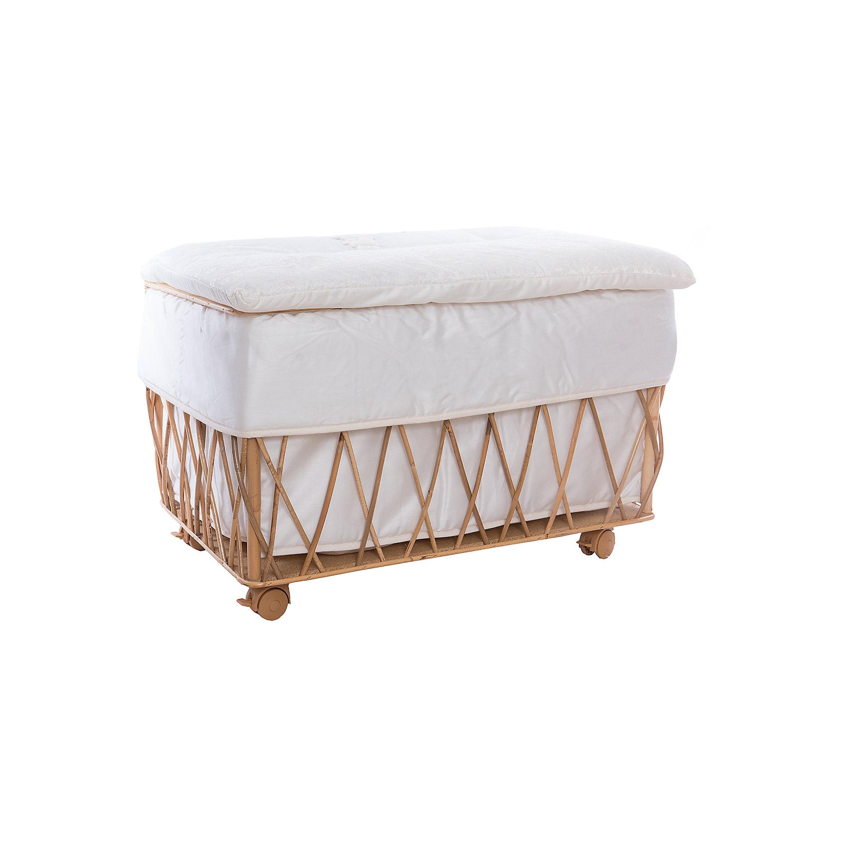 Italbaby Плетеный ящик для игрушек ANGIOLETTI, Italbaby