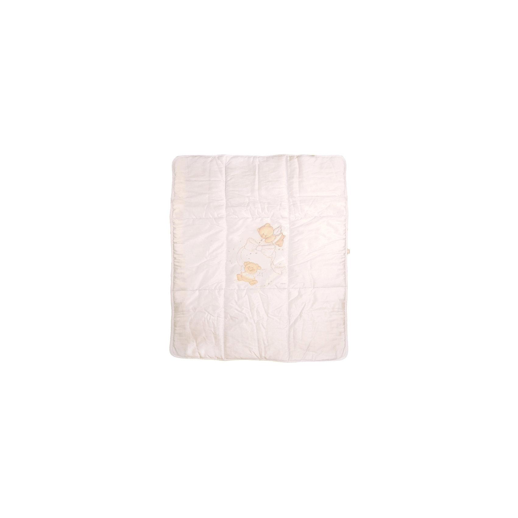 Игровое одеяло Sweet Star, Italbaby, кремОдеяла, пледы<br>Стильный, а главное теплый и удобный игровой коврик с наполнением из фиброволокна, обязательно понравится Вашему ребенку! <br><br>Дополнительная информация:<br><br>- Наполнитель: фиброволокно.<br>- Габариты: 100х130 см.<br>- Цвет: кремовый.<br>- Уход: стирка при 30 градусах.<br><br>Купить игровое одеяло Sweet Star, можно в нашем магазине.<br><br>Ширина мм: 1300<br>Глубина мм: 1000<br>Высота мм: 200<br>Вес г: 1000<br>Возраст от месяцев: 0<br>Возраст до месяцев: 36<br>Пол: Унисекс<br>Возраст: Детский<br>SKU: 5093570
