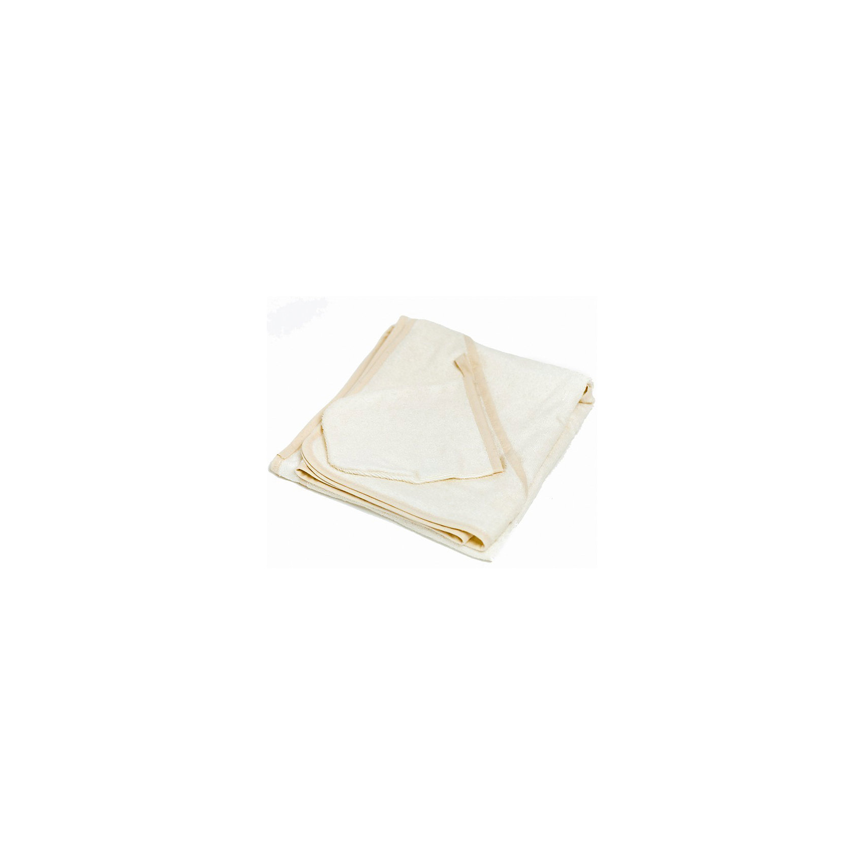 Italbaby Махровое полотенце 100/100, Italbaby, бежевый полотенца банные aisha махровое полотенце бежевый 40 70 100