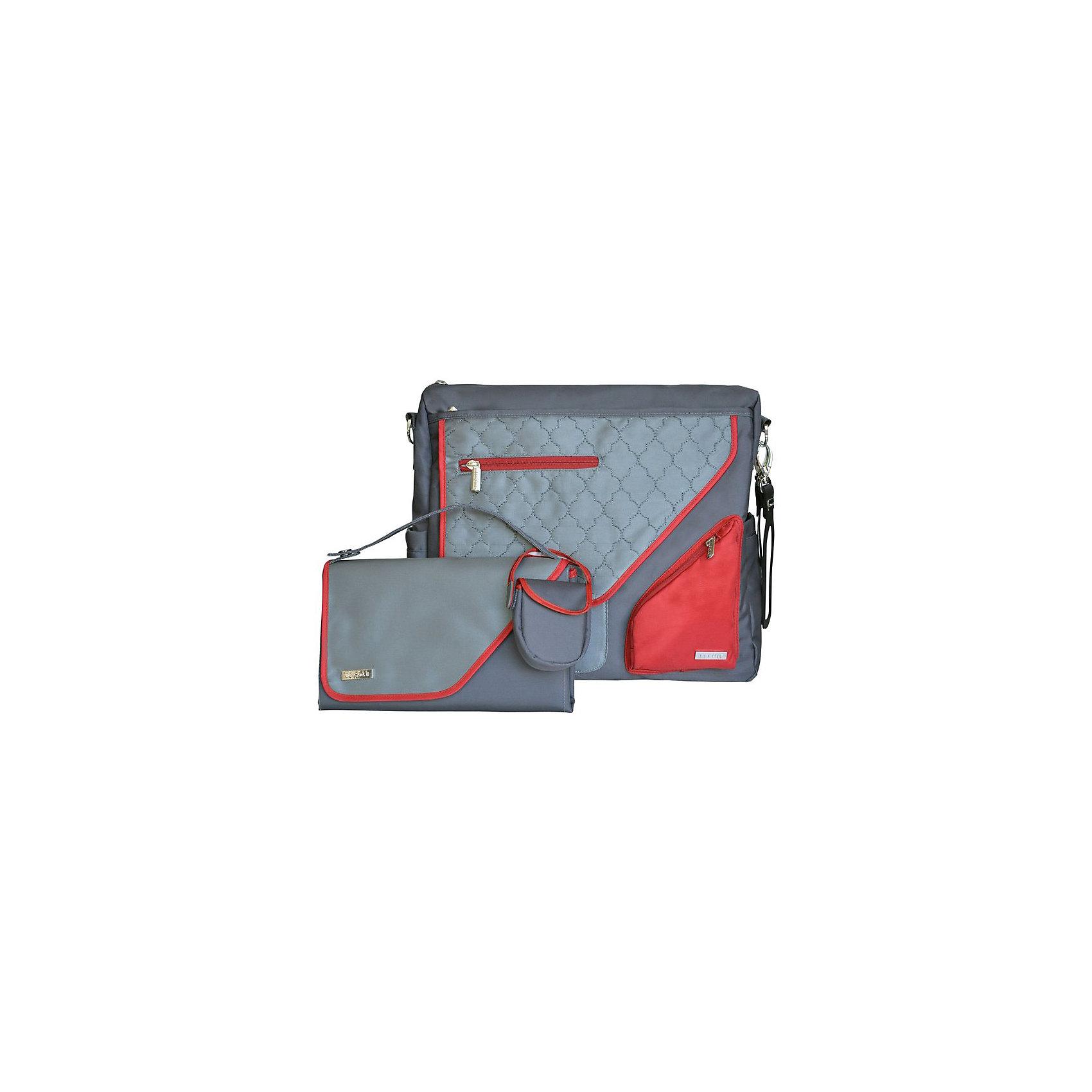 Сумка Metra,JJ Cole, красныйУдобная сумка как для мамы, так и для папы. В зависимости от ситуации сумку можно носить 2 способами: с ремнем через плечо и за специальные нескользящие крепления к коляске. Особенности: <br>- Вместительная сумка с 11 внешними и внутренними карманами, кошельком-органайзером, и отдельной маленькой сумочкой для сосок, которая может крепиться не только к сумке, но и к коляске.<br>- В комплекте с креплениями для коляски и большим пеленальным ковриком с застежкой.<br><br>Дополнительная информация: <br><br>- Размер сумки: 40х13х32 см.<br>- Размер коврика: 70х50 см.<br>- Размер кошелечка: 8х9х2.5 см.<br>- Материал: текстиль.<br>- Цвет: красный.<br><br>Купить сумку Metra от JJ Cole, можно в нашем магазине.<br><br>Ширина мм: 120<br>Глубина мм: 450<br>Высота мм: 400<br>Вес г: 900<br>Возраст от месяцев: 0<br>Возраст до месяцев: 588<br>Пол: Унисекс<br>Возраст: Детский<br>SKU: 5093579