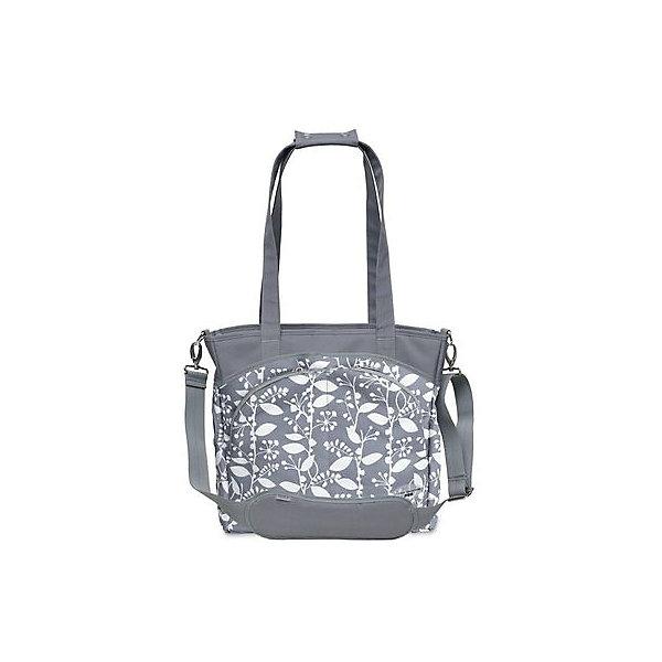 Сумка Mode,JJ Cole, серый с цветочным орнаментомАксессуары для колясок<br>Вместительная сумка для мамы имеет 12 внутренних и внешних карманов для удобного хранения и транспортировки всех детских принадлежностей и аксессуаров. В зависимости от ситуации сумку можно носить 3 способами: <br>как элегантную женскую сумку за ручки, с ремнем через плечо, и за специальные нескользящие крепления к коляске. <br><br>Дополнительная информация: <br><br>- Размер сумки: 14.5х13.5х5 см.<br>- Материал: текстиль.<br>- Цвет: серый с цветочным орнаментом.<br><br>Купить сумку Mode от JJ Cole, можно в нашем магазине.<br><br>Ширина мм: 120<br>Глубина мм: 450<br>Высота мм: 400<br>Вес г: 900<br>Возраст от месяцев: 0<br>Возраст до месяцев: 588<br>Пол: Унисекс<br>Возраст: Детский<br>SKU: 5093580