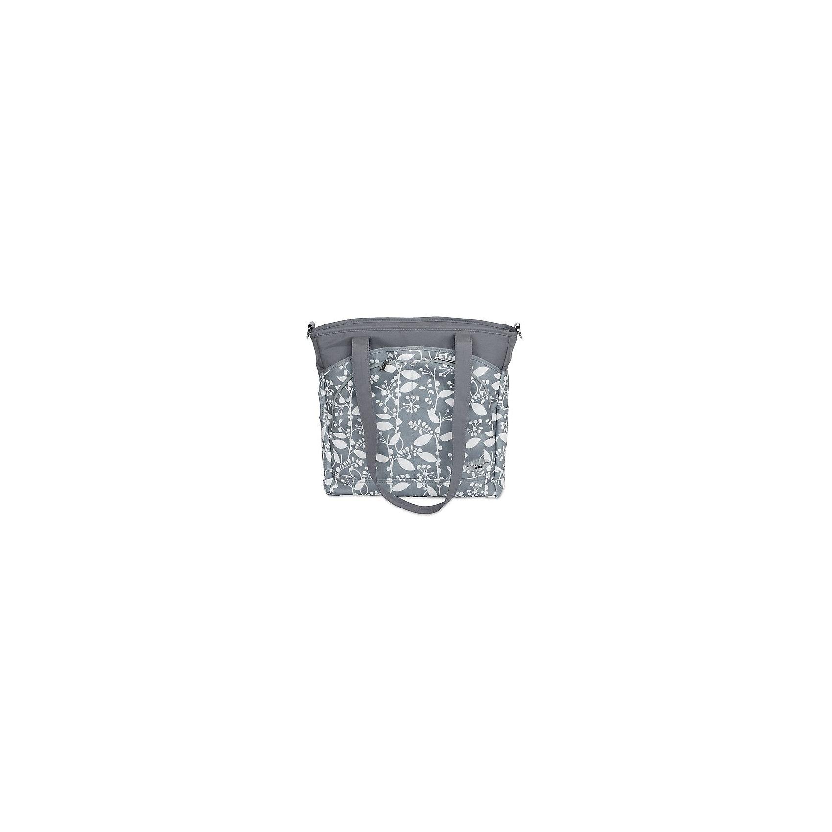 Сумка Mode,JJ Cole, серый с цветочным орнаментом (JJ COLE)