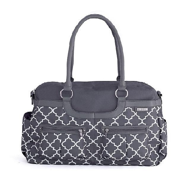 Сумка Satchel,JJ Cole,серыйАксессуары для колясок<br>Вместительная женская сумка, имеет 11 карманов для удобного хранения и транспортировки всех детских принадлежностей и аксессуаров. В зависимости от ситуации сумку можно носить 3 способами: как элегантную женскую сумку за ручки, с ремнем через плечо, и за специальные нескользящие крепления к коляске. <br>В комплекте есть крепления для коляски и пеленальный коврик.<br><br>Дополнительная информация: <br><br>- Размер сумки: 45х11х30 см.<br>- Материал: текстиль.<br>- Цвет: серый.<br><br>Купить сумку Satchel от JJ Cole, можно в нашем магазине.<br><br>Ширина мм: 120<br>Глубина мм: 450<br>Высота мм: 400<br>Вес г: 900<br>Возраст от месяцев: 0<br>Возраст до месяцев: 588<br>Пол: Унисекс<br>Возраст: Детский<br>SKU: 5093582