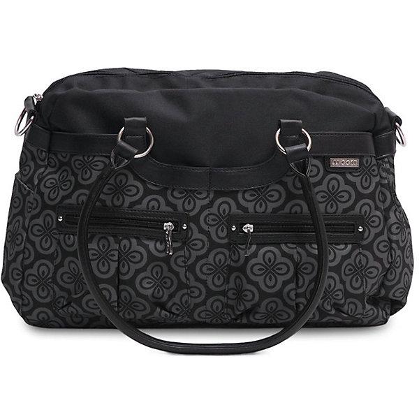 Сумка Satchel,JJ Cole, черныйАксессуары для колясок<br>Вместительная женская сумка, имеет 11 карманов для удобного хранения и транспортировки всех детских принадлежностей и аксессуаров. В зависимости от ситуации сумку можно носить 3 способами: как элегантную женскую сумку за ручки, с ремнем через плечо, и за специальные нескользящие крепления к коляске. <br>В комплекте есть крепления для коляски и пеленальный коврик.<br><br>Дополнительная информация: <br><br>- Размер сумки: 45х11х30 см.<br>- Материал: текстиль.<br>- Цвет: черный.<br><br>Купить сумку Satchel от JJ Cole, можно в нашем магазине.<br><br>Ширина мм: 120<br>Глубина мм: 450<br>Высота мм: 400<br>Вес г: 900<br>Возраст от месяцев: 0<br>Возраст до месяцев: 588<br>Пол: Унисекс<br>Возраст: Детский<br>SKU: 5093583