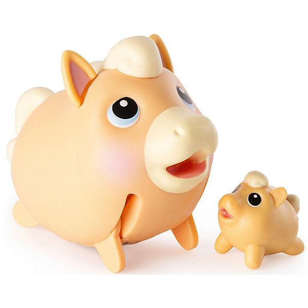 Коллекционная фигурка Лошадка, Chubby PuppiesФигурки из мультфильмов<br>Характеристики товара:<br><br>- цвет: разноцветный;<br>- материал: пластик;<br>- размер упаковки: 15х8х11 см;<br>- вес: 250 г;<br>- комплектация: большая и маленькая фигурки. <br><br>Игрушки от бренда Chubby Puppies - это симпатичные животные, которые умеют забавно двигаться. Эта игрушка очень качественно выполнена, поэтому она станет отличным подарком ребенку. Такое изделие отлично тренирует у ребенка разные навыки: играя с ней, малыш развивает мелкую моторику, цветовосприятие, внимание, воображение и творческое мышление.<br>Данная модель дополнена маленькой копией животного! Из этих фигурок можно собрать целую коллекцию! Изделие произведено из высококачественного материала, безопасного для детей.<br><br>Коллекционную фигурку Лошадка от бренда Chubby Puppies можно купить в нашем интернет-магазине.<br>Ширина мм: 80; Глубина мм: 110; Высота мм: 150; Вес г: 250; Возраст от месяцев: 36; Возраст до месяцев: 2147483647; Пол: Унисекс; Возраст: Детский; SKU: 5094041;