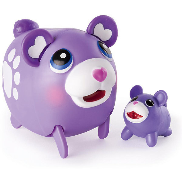 Коллекционная фигурка Мишка, Chubby PuppiesИгровые фигурки животных<br>Характеристики товара:<br><br>- цвет: разноцветный;<br>- материал: пластик;<br>- размер упаковки: 15х8х11 см;<br>- вес: 250 г;<br>- комплектация: большая и маленькая фигурки. <br><br>Игрушки от бренда Chubby Puppies - это симпатичные животные, которые умеют забавно двигаться. Эта игрушка очень качественно выполнена, поэтому она станет отличным подарком ребенку. Такое изделие отлично тренирует у ребенка разные навыки: играя с ней, малыш развивает мелкую моторику, цветовосприятие, внимание, воображение и творческое мышление.<br>Данная модель дополнена маленькой копией животного! Из этих фигурок можно собрать целую коллекцию! Изделие произведено из высококачественного материала, безопасного для детей.<br><br>Коллекционную фигурку Мишка от бренда Chubby Puppies можно купить в нашем интернет-магазине.<br>Ширина мм: 80; Глубина мм: 110; Высота мм: 150; Вес г: 250; Возраст от месяцев: 36; Возраст до месяцев: 2147483647; Пол: Унисекс; Возраст: Детский; SKU: 5094043;