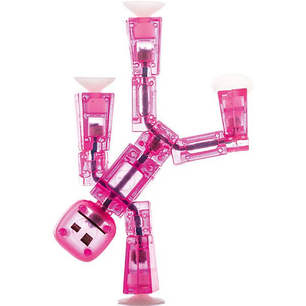 Игрушка-фигурка, розовая, StikbotФигурки из мультфильмов<br>Характеристики товара:<br><br>- цвет: розовый;<br>- материал: пластик, металл;<br>- комплектация: 1 фигурка;<br>- особенности: для съемки роликов;<br>- размер фигурки: 8 см;<br>- размер упаковки: 11х2х12 см;<br>- вес: 62 г.<br>-скачайте на Ваше устройство приложение на App Store и Google Play<br><br>Такое увлекательное занятие, как съемка роликов или мультфильфов, не оставит ребенка равнодушным! Для этого нужен набор Stikbot (или просто фигурки), смартфон и специальное приложение! Такие человечки помогут дополнить домашнюю студию и разнообразить сюжеты роликов. Они легко фиксируются в определенном положении, на них есть специальные присоски. Снимать ролики с такими героями - очень легко, поэтому они станут отличным подарком ребенку. Процесс съемки помогает ребенку развить логику, творческие способности ребенка, мышление, внимание, воображение и мелкую моторику.<br>Изделие произведено из высококачественного материала, безопасного для детей.<br><br>Игрушку-фигурку, розовую, от бренда Stikbot можно купить в нашем интернет-магазине.<br>Ширина мм: 30; Глубина мм: 140; Высота мм: 110; Вес г: 63; Возраст от месяцев: 36; Возраст до месяцев: 2147483647; Пол: Унисекс; Возраст: Детский; SKU: 5094047;