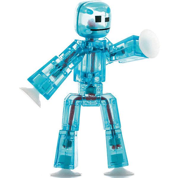 Игрушка-фигурка, синяя, StikbotФигурки из мультфильмов<br>Характеристики товара:<br><br>- цвет: синий;<br>- материал: пластик, металл;<br>- комплектация: 1 фигурка;<br>- особенности: для съемки роликов;<br>- размер фигурки: 8 см;<br>- размер упаковки: 11х2х12 см;<br>- вес: 62 г.<br>-скачайте на Ваше устройство приложение на App Store и Google Play<br><br>Такое увлекательное занятие, как съемка роликов или мультфильфов, не оставит ребенка равнодушным! Для этого нужен набор Stikbot (или просто фигурки), смартфон и специальное приложение! Такие человечки помогут дополнить домашнюю студию и разнообразить сюжеты роликов. Они легко фиксируются в определенном положении, на них есть специальные присоски. Снимать ролики с такими героями - очень легко, поэтому они станут отличным подарком ребенку. Процесс съемки помогает ребенку развить логику, творческие способности ребенка, мышление, внимание, воображение и мелкую моторику.<br>Изделие произведено из высококачественного материала, безопасного для детей.<br><br>Игрушку-фигурку, синюю, от бренда Stikbot можно купить в нашем интернет-магазине.<br>Ширина мм: 30; Глубина мм: 140; Высота мм: 110; Вес г: 63; Возраст от месяцев: 36; Возраст до месяцев: 2147483647; Пол: Унисекс; Возраст: Детский; SKU: 5094048;