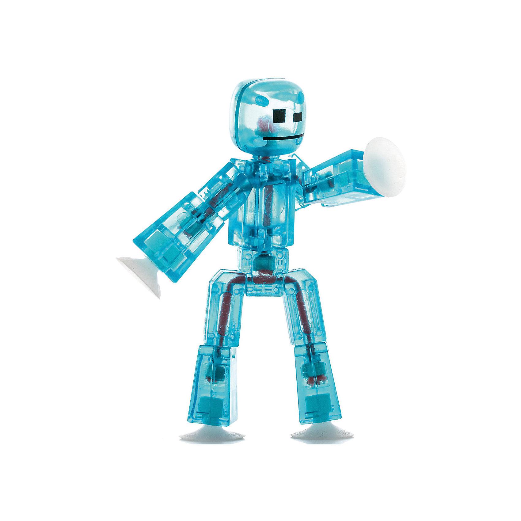 Игрушка-фигурка, синяя, StikbotХарактеристики товара:<br><br>- цвет: синий;<br>- материал: пластик, металл;<br>- комплектация: 1 фигурка;<br>- особенности: для съемки роликов;<br>- размер фигурки: 8 см;<br>- размер упаковки: 11х2х12 см;<br>- вес: 62 г.<br>-скачайте на Ваше устройство приложение на App Store и Google Play<br><br>Такое увлекательное занятие, как съемка роликов или мультфильфов, не оставит ребенка равнодушным! Для этого нужен набор Stikbot (или просто фигурки), смартфон и специальное приложение! Такие человечки помогут дополнить домашнюю студию и разнообразить сюжеты роликов. Они легко фиксируются в определенном положении, на них есть специальные присоски. Снимать ролики с такими героями - очень легко, поэтому они станут отличным подарком ребенку. Процесс съемки помогает ребенку развить логику, творческие способности ребенка, мышление, внимание, воображение и мелкую моторику.<br>Изделие произведено из высококачественного материала, безопасного для детей.<br><br>Игрушку-фигурку, синюю, от бренда Stikbot можно купить в нашем интернет-магазине.<br><br>Ширина мм: 30<br>Глубина мм: 140<br>Высота мм: 110<br>Вес г: 63<br>Возраст от месяцев: 36<br>Возраст до месяцев: 2147483647<br>Пол: Унисекс<br>Возраст: Детский<br>SKU: 5094048