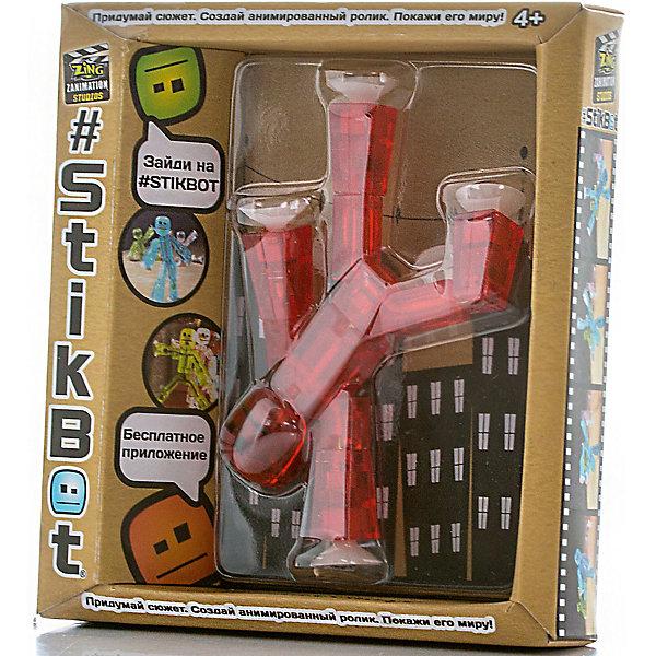 Игрушка-фигурка, красная, StikbotФигурки из мультфильмов<br>Характеристики товара:<br><br>- цвет: красный;<br>- материал: пластик, металл;<br>- комплектация: 1 фигурка;<br>- особенности: для съемки роликов;<br>- размер фигурки: 8 см;<br>- размер упаковки: 11х2х12 см;<br>- вес: 62 г.<br>-скачайте на Ваше устройство приложение на App Store и Google Play<br><br>Такое увлекательное занятие, как съемка роликов или мультфильфов, не оставит ребенка равнодушным! Для этого нужен набор Stikbot (или просто фигурки), смартфон и специальное приложение! Такие человечки помогут дополнить домашнюю студию и разнообразить сюжеты роликов. Они легко фиксируются в определенном положении, на них есть специальные присоски. Снимать ролики с такими героями - очень легко, поэтому они станут отличным подарком ребенку. Процесс съемки помогает ребенку развить логику, творческие способности ребенка, мышление, внимание, воображение и мелкую моторику.<br>Изделие произведено из высококачественного материала, безопасного для детей.<br><br>Игрушку-фигурку, красную, от бренда Stikbot можно купить в нашем интернет-магазине.<br>Ширина мм: 30; Глубина мм: 140; Высота мм: 110; Вес г: 63; Возраст от месяцев: 36; Возраст до месяцев: 2147483647; Пол: Унисекс; Возраст: Детский; SKU: 5094049;