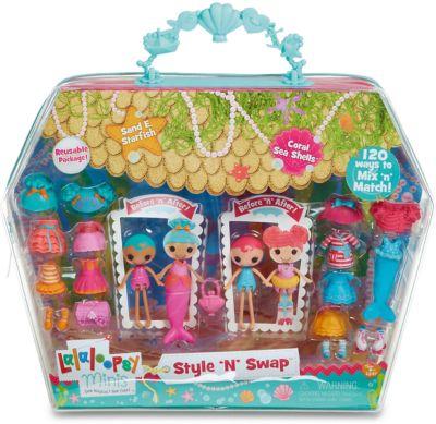 Игровой набор Мини-Лалалупси , Старфиш, с двумя куклами и аксессуарами