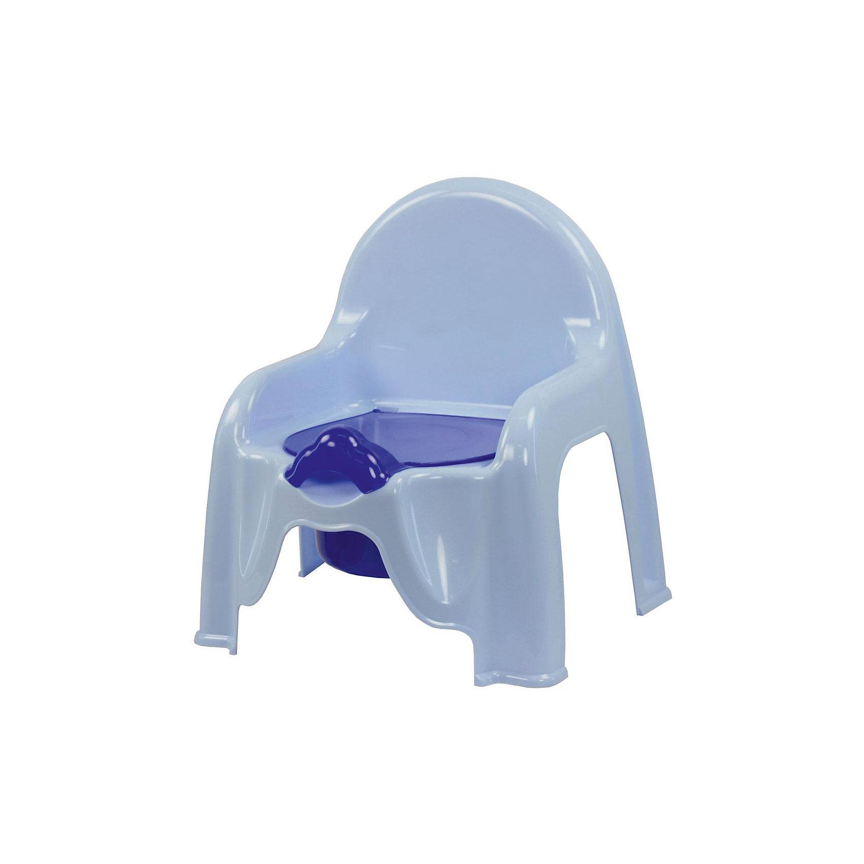 Горшок-стульчик , Alternativa, голубойГоршки, сиденья для унитаза, стульчики-подставки<br>Горшок-стульчик , Alternativa, голубой сделан из пластика, абсолютно безопасного для детей. Горшок сделан в форме стула: спинка и два небольших подлокотника, что создаст удобство ребёнку. Горшок Малышок отлично подойдет для того, чтобы приучить ребёнка ходить в туалет самостоятельно. <br><br>Дополнительная информация:<br>-Размер(ДхШхВ):45,5 х11х22 см<br>-Цвет: голубой<br>-Марка: Alternativa<br><br>Горшок-стульчик , Alternativa, голубой вы можете приобрести в нашем интернет-магазине.<br><br>Ширина мм: 290<br>Глубина мм: 255<br>Высота мм: 345<br>Вес г: 439<br>Возраст от месяцев: -2147483648<br>Возраст до месяцев: 2147483647<br>Пол: Мужской<br>Возраст: Детский<br>SKU: 5096511