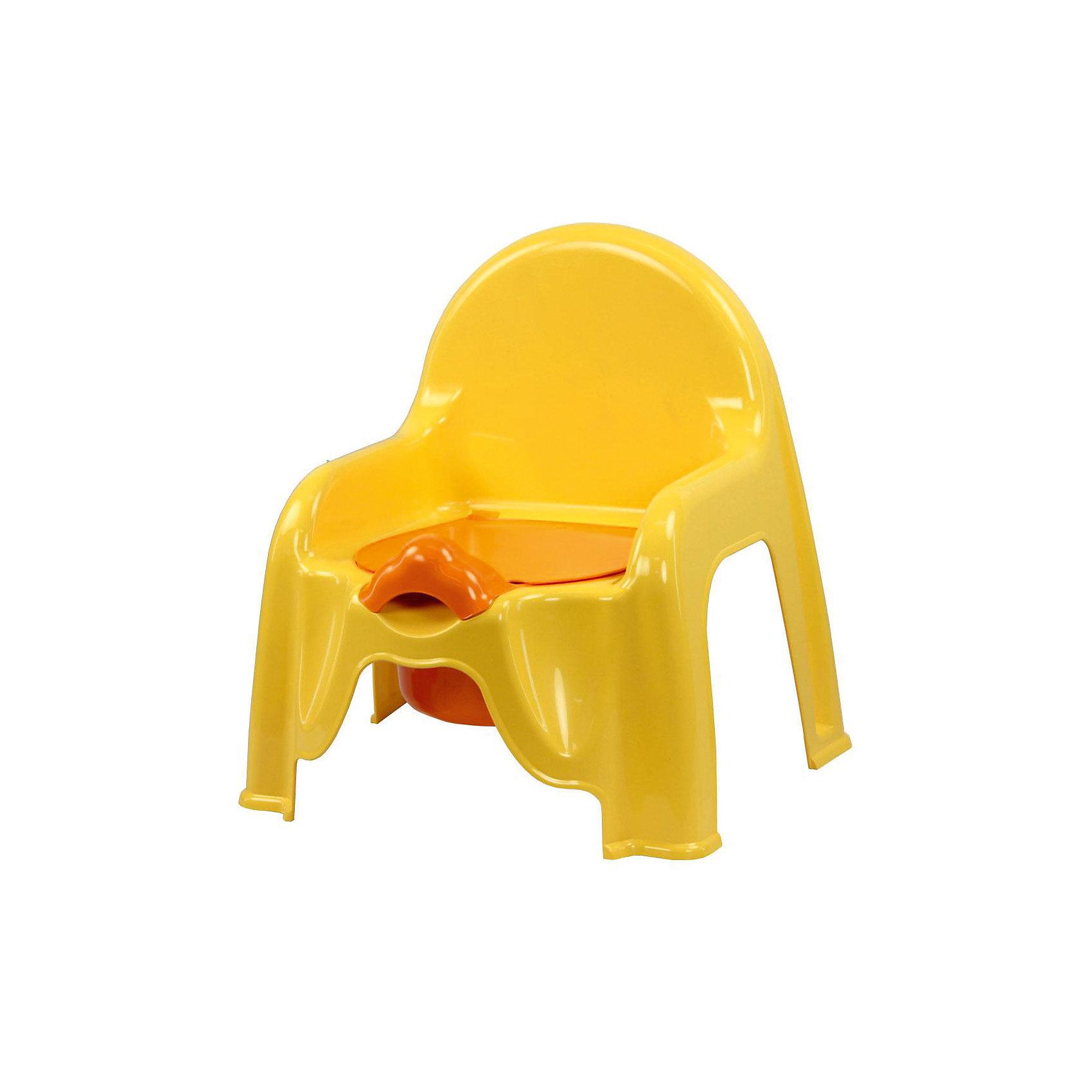 Горшок-стульчик , Alternativa, св.жёлтыйГоршки, сиденья для унитаза, стульчики-подставки<br>Горшок-стульчик , Alternativa, светло-жёлтый сделан из пластика, абсолютно безопасного для детей. Горшок сделан в форме стула: спинка и два небольших подлокотника, что создаст удобство ребёнку. Горшок Малышок отлично подойдет для того, чтобы приучить ребёнка ходить в туалет самостоятельно. <br><br>Дополнительная информация:<br>-Размер(ДхШхВ):45,5 х11х22 см<br>-Цвет: светло-жёлтый<br>-Марка: Alternativa<br><br>Горшок-стульчик , Alternativa, светло-жёлтый вы можете приобрести в нашем интернет-магазине.<br><br>Ширина мм: 290<br>Глубина мм: 255<br>Высота мм: 345<br>Вес г: 439<br>Возраст от месяцев: 6<br>Возраст до месяцев: 36<br>Пол: Унисекс<br>Возраст: Детский<br>SKU: 5096513