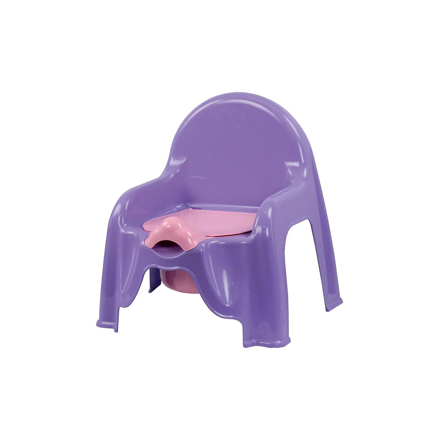 Горшок-стульчик , Alternativa, св.фиолетовыйГоршки, сиденья для унитаза, стульчики-подставки<br>Горшок-стульчик , Alternativa, светло-фиолетовый сделан из пластика, абсолютно безопасного для детей. Горшок сделан в форме стула: спинка и два небольших подлокотника, что создаст удобство ребёнку. Горшок Малышок отлично подойдет для того, чтобы приучить ребёнка ходить в туалет самостоятельно. <br><br>Дополнительная информация:<br>-Размер(ДхШхВ):45,5 х11х22 см<br>-Цвет: светло-фиолетовый<br>-Марка: Alternativa<br><br>Горшок-стульчик , Alternativa, светло-фиолетовый вы можете приобрести в нашем интернет-магазине.<br><br>Ширина мм: 290<br>Глубина мм: 255<br>Высота мм: 345<br>Вес г: 439<br>Возраст от месяцев: 6<br>Возраст до месяцев: 36<br>Пол: Женский<br>Возраст: Детский<br>SKU: 5096514