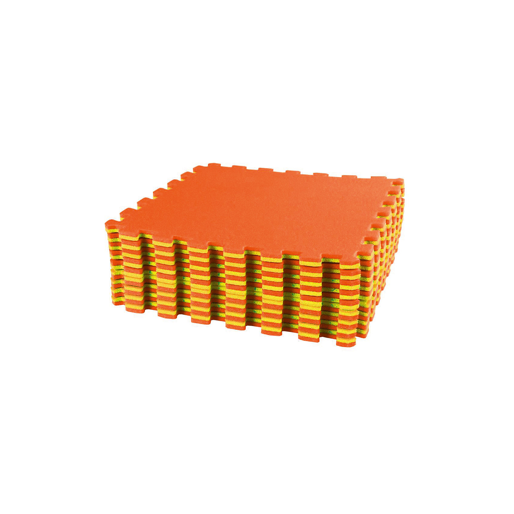 Alternativa Коврик спортивный (1270х1270), Alternativa, оранжевый-желтый alternativa ящик для инструментов 425х224х200 alternativa синий желтый