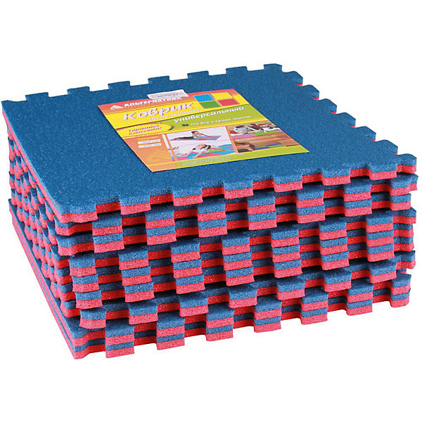 Коврик универ.(1020х1020)(из 9шт), Alternativa, красно-синийДетские ковры<br>Коврик универсальный  (1020х1020)(из 9шт), Alternativa, красно-синий подойдёт как для занятий спортом, так и для игр. Коврик не позволит скользить во время упражнений , убережет от случайных ударов об пол и не позволит замерзнуть во время игр на полу. Он изготовлен из пенополиэтилена, который не вызовет аллергическую реакцию. Благодаря ярким цветам коврика, любые занятия ребёнка будут проходить в хорошем, позитивном настроении. <br> В товар входит:<br>- 9 ковриков<br>Дополнительная информация:<br> -Размер: 1020х1020<br> -Цвет: красно-синий<br> -Материал: пенополиэтилен <br>  -Марка: Alternativa<br><br>Коврик универсальный  (1020х1020)(из 9шт), Alternativa, красно-синий вы можете приобрести в нашем интернет-магазине.<br>Ширина мм: 1020; Глубина мм: 1020; Высота мм: 15; Вес г: 540; Возраст от месяцев: 6; Возраст до месяцев: 36; Пол: Унисекс; Возраст: Детский; SKU: 5096518;