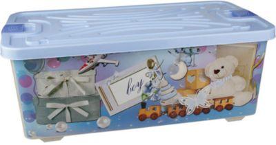 Контейнер для игрушек Boy (прямоугольный) 75л. , Alternativa
