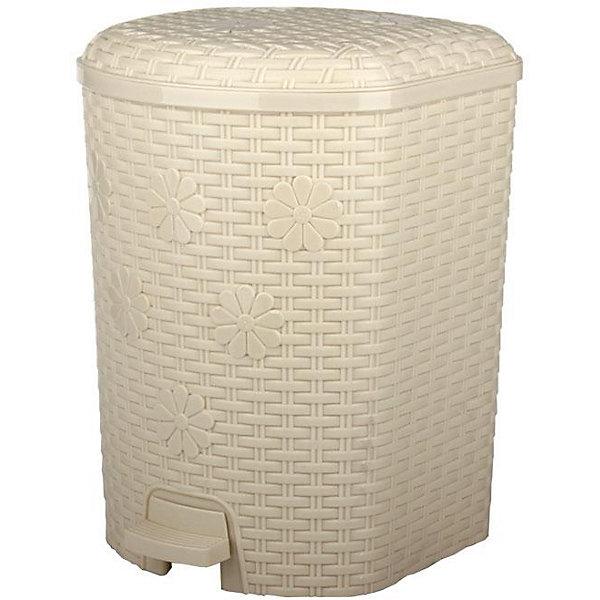 Контейнер для мусора Плетёнка 12л., Alternativa, слоновая костьМусорные ведра<br>Характеристики:<br><br>• Предназначение: для мусора<br>• Материал: пластик<br>• Цвет: слоновая кость<br>• Размер (Д*Ш*В): 22,8*22,5*33,6 см<br>• Вместимость (объем): 12 л<br>• Форма: прямоугольный<br>• Наличие крышки <br>• Наличие педали<br>• Наличие внутреннего контейнера-вкладыша с ручкой<br>• Особенности ухода: разрешается мыть теплой водой<br><br>Контейнер для мусора Плетёнка 12 л., Alternativa, слоновая кость изготовлен отечественным производителем ООО ЗПИ Альтернатива, который специализируется на выпуске широкого спектра изделий из пластика. Контейнер выполнен из экологически безопасного пластика, устойчивого к механическим повреждениям, корпус оформлен имитацией плетения из лозы, в комплекте внутренний контейнер-вкладыш с ручкой и педаль для подъма крышки. Изделие имеет удобную форму, достаточно легкое в уходе. Контейнер для мусора Плетёнка 12 л., Alternativa, слоновая кость позволит поддерживать порядок дома без особого труда.<br><br>Контейнер для мусора Плетёнка 12 л., Alternativa, слоновая кость можно купить в нашем интернет-магазине.<br>Ширина мм: 228; Глубина мм: 225; Высота мм: 336; Вес г: 1323; Возраст от месяцев: 6; Возраст до месяцев: 84; Пол: Унисекс; Возраст: Детский; SKU: 5096591;