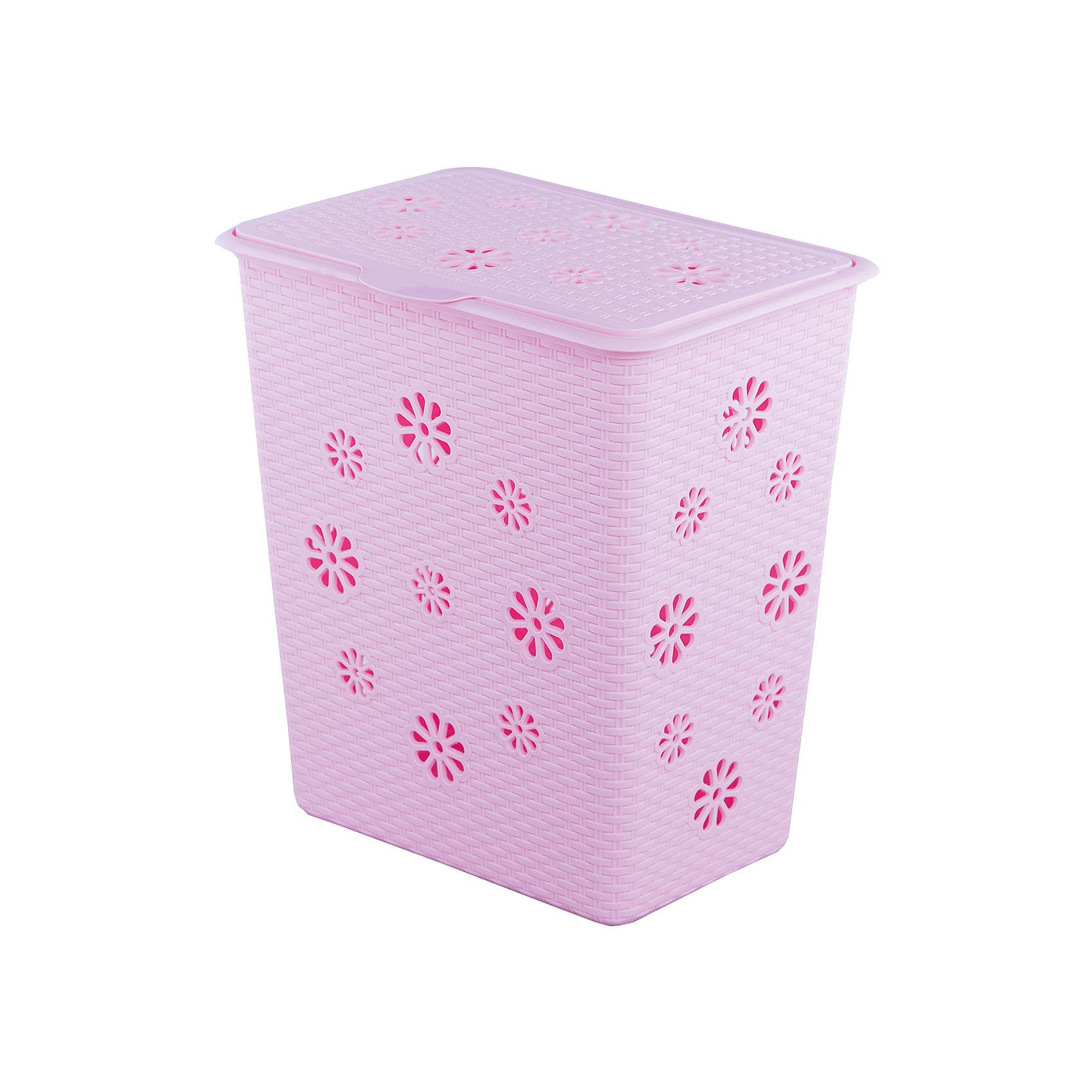 Alternativa Корзина для белья Плетёнка 60л. , Alternativa, розовый alternativa горка для купания alternativa розовый