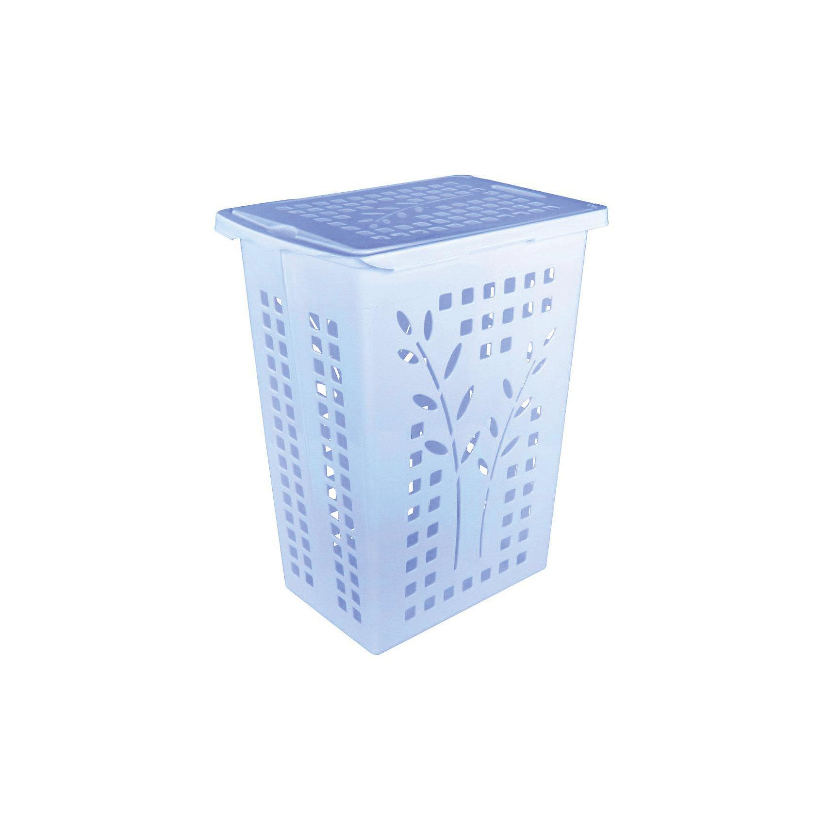 Корзина для белья 30л., Alternativa, голубой