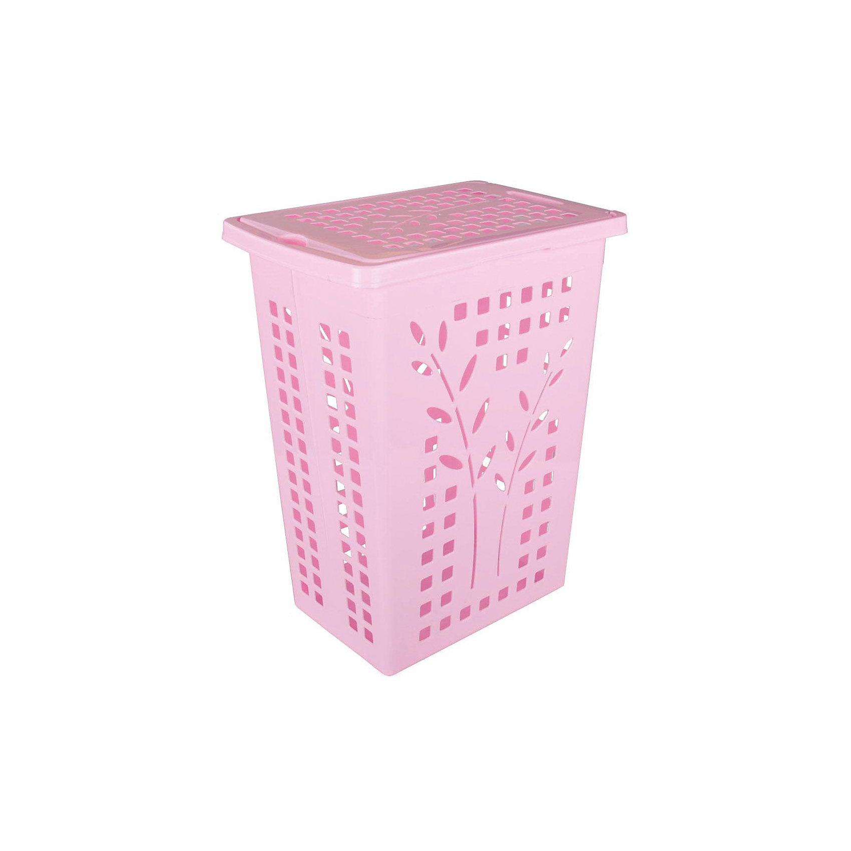 Корзина для белья 30л., Alternativa, розовыйВанная комната<br>Характеристики:<br><br>• Предназначение: для белья<br>• Материал: пластик<br>• Цвет: розовый<br>• Размер (Д*Ш*В): 37,5*25*48 см<br>• Форма: прямоугольный<br>• Объем: 30 л<br>• Наличие крышки<br>• Особенности ухода: разрешается мыть теплой водой<br><br>Корзина для белья 30 л., Alternativa, розовый изготовлена отечественным производителем ООО ЗПИ Альтернатива, который специализируется на выпуске широкого спектра изделий из пластика. Корзина выполнена из экологически безопасного пластика, устойчивого к механическим повреждениям, корпус оформлен рисунком из отверстий в форме квадратов и ветками с листочками, которые обеспечивают циркуляцию воздуха, в комплекте предусмотрена крышка. Изделие имеет удобную форму, достаточно легкое в уходе. Корзину для белья 30 л., Alternativa, розовую можно использовать не только для белья, но и для хранения игрушек.<br><br>Корзину для белья 30 л., Alternativa, розовую можно купить в нашем интернет-магазине.<br><br>Ширина мм: 375<br>Глубина мм: 250<br>Высота мм: 480<br>Вес г: 796<br>Возраст от месяцев: -2147483648<br>Возраст до месяцев: 2147483647<br>Пол: Женский<br>Возраст: Детский<br>SKU: 5096618