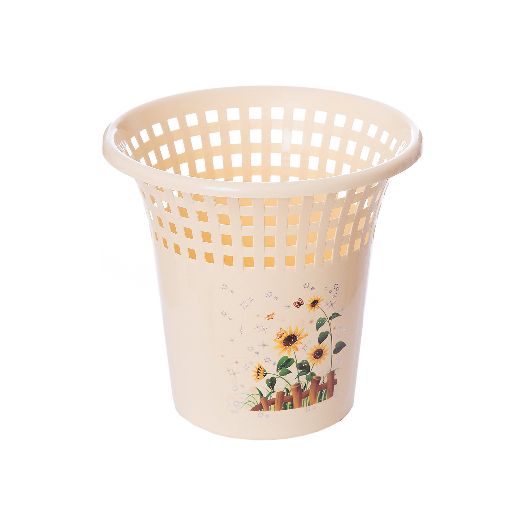 Корзина для бумаг, Alternativa, светло-жёлтыйПорядок в детской<br>Характеристики:<br><br>• Предназначение: для бумаг<br>• Материал: пластик<br>• Цвет: светло желтый<br>• Размер (Д*Ш*В): 26*26*24,5 см<br>• Форма: круглая<br>• Особенности ухода: разрешается мыть теплой водой<br><br>Корзина для бумаг, Alternativa, св.жёлтый изготовлена отечественным производителем ООО ЗПИ Альтернатива, который специализируется на выпуске широкого спектра изделий из пластика. Корзина выполнена из экологически безопасного пластика, имеет круглую форму, расширенную кверху, оформлена цветочным декором. Изделие достаточно легкое в уходе. Корзина для бумаг, Alternativa, светло-жёлтый позволит поддерживать порядок дома без особого труда.<br><br>Корзину для бумаг, Alternativa, светло-жёлтую можно купить в нашем интернет-магазине.<br><br>Ширина мм: 260<br>Глубина мм: 260<br>Высота мм: 245<br>Вес г: 177<br>Возраст от месяцев: 6<br>Возраст до месяцев: 588<br>Пол: Женский<br>Возраст: Детский<br>SKU: 5096619