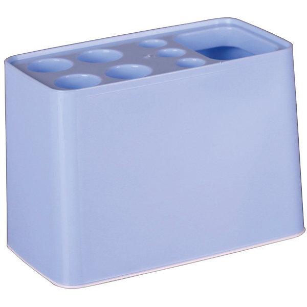 Купить Подставка Дебют для зубных щёток, Alternativa, голубой, Россия, Мужской