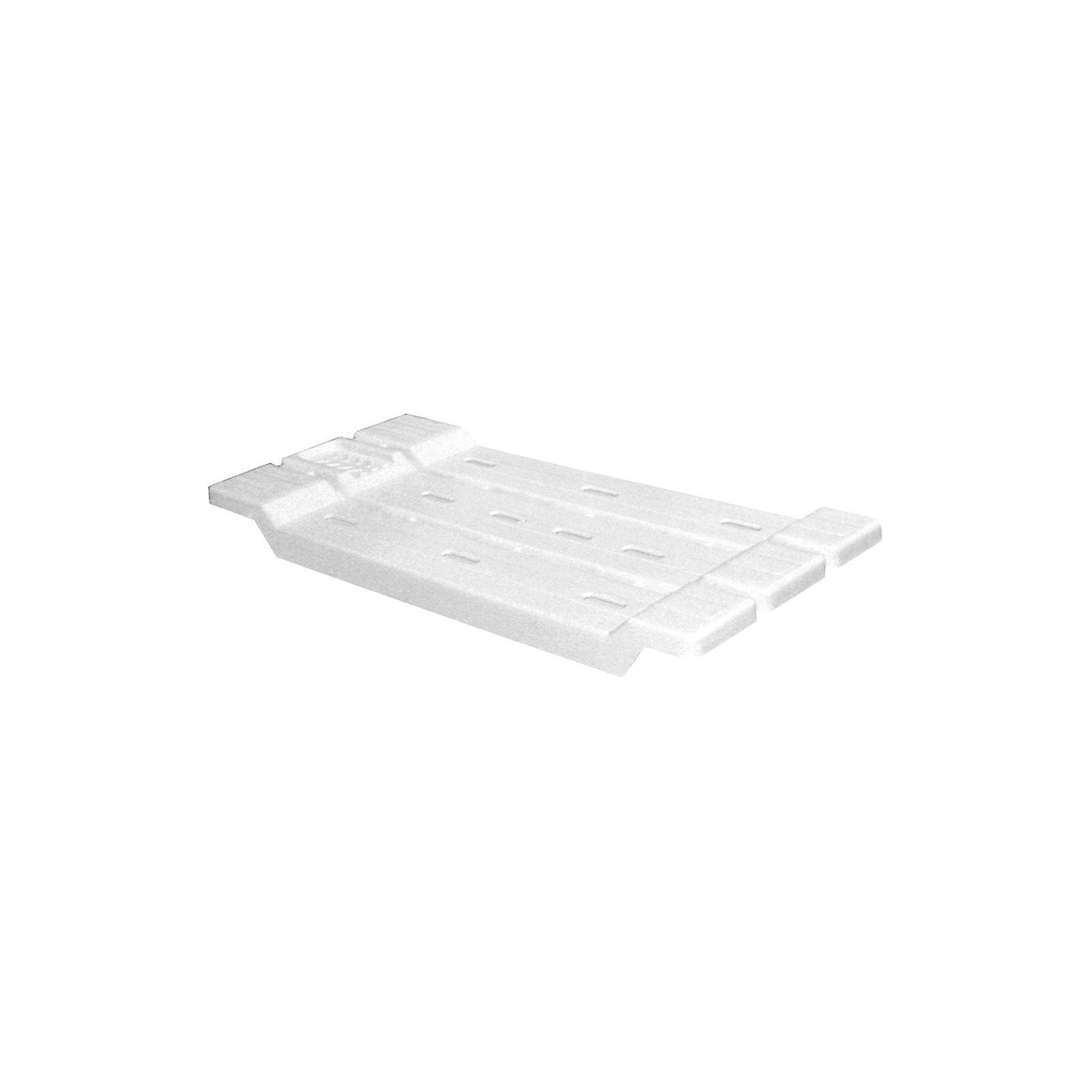 Полка для ванной (сиденье), Alternativa, белыйХарактеристики:<br><br>• Предназначение: для ванной<br>• Материал: пластик<br>• Цвет: белый<br>• Размер (Д*Ш*В): 68*31*4 см<br>• Вес: 400 г<br>• Форма: прямоугольный<br>• Особенности ухода: разрешается мыть теплой водой<br><br>Полка для ванной (сиденье), Alternativa, белый изготовлена отечественным производителем ООО ЗПИ Альтернатива, который специализируется на выпуске широкого спектра изделий из пластика. Изделие выполнено из безопасного и прочного пластика, устойчивого к механическим повреждениям. Полка выполнена в форме сидения, подходит для ванных стандартного размера. На поверхности изделия предусмотрена выемка для мыла. Полка для ванной (сиденье), Alternativa, белый может быть импользована в качестве сидения во время ежедневных водных процедурах и в качестве полки-подставки для моющих средств. <br><br>Полку для ванной (сиденье), Alternativa, белую можно купить в нашем интернет-магазине.<br><br>Ширина мм: 680<br>Глубина мм: 310<br>Высота мм: 40<br>Вес г: 955<br>Возраст от месяцев: 6<br>Возраст до месяцев: 588<br>Пол: Унисекс<br>Возраст: Детский<br>SKU: 5096669