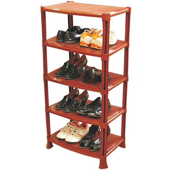 Полка для обуви (1008х510х350), AlternativaДетские комоды<br>Характеристики:<br><br>• Предназначение: для хранения обуви<br>• Материал: пластик<br>• Цвет: светло коричневый<br>• Размер (Д*Ш*В): 100,8 *51*35 см<br>• Форма: прямоугольный<br>• Предусмотрено 5 полок<br>• Особенности ухода: разрешается мыть теплой водой<br><br>Полка для обуви (1008х510х350), Alternativa изготовлена отечественным производителем ООО ЗПИ Альтернатива, который специализируется на выпуске широкого спектра изделий из пластика. Изделие выполнено из безопасного и прочного пластика, устойчивого к механическим повреждениям. Полка выполнена в форме этажерки, состоит из 5-ти широких полок. Изделие выполнено в светло-коричневом цвете, легкое в уходе. Полка для обуви (1008х510х350), Alternativa может быть использована не только для хранения обуви, но и для средств по уходу за обувью. <br><br>Полку для обуви (1008х510х350), Alternativa можно купить в нашем интернет-магазине.<br>Ширина мм: 510; Глубина мм: 350; Высота мм: 1010; Вес г: 2973; Возраст от месяцев: 6; Возраст до месяцев: 588; Пол: Унисекс; Возраст: Детский; SKU: 5096672;