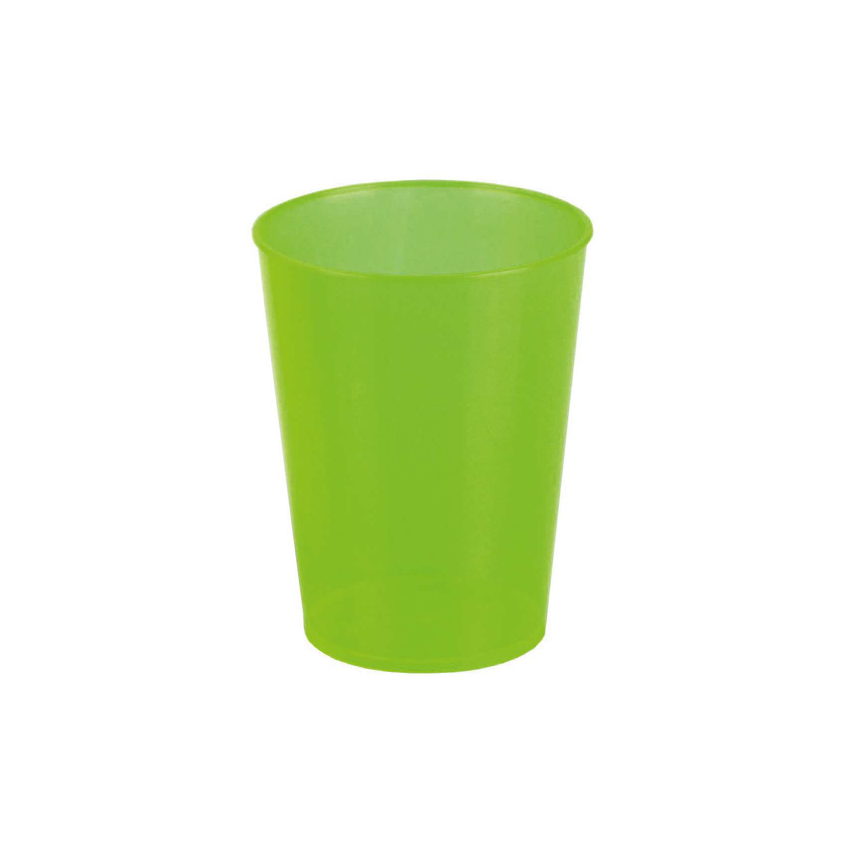 Стакан 350мл, Alternativa, зеленыйПосуда<br>Характеристики:<br><br>• Предназначение: для пищевых продуктов, для хранения зубных щеток, карандашей<br>• Материал: пластик<br>• Цвет: зеленый <br>• Размер (Д*Ш*В):  8*8*10,5 см<br>• Объем: 350 мл<br>• Особенности ухода: разрешается мыть<br><br>Стакан 350 мл, Alternativa, зеленый изготовлен отечественным производителем ООО ЗПИ Альтернатива, который специализируется на выпуске широкого спектра изделий и предметов мебели из пластика. Стакан выполнен из экологически безопасного пищевого пластика, устойчивого к механическим повреждениям и изменению цвета. Стакан можно использовать для холодных напитков, для хранения карандашей, фломастеров или в качестве подставки для зубных щеток, кроме он подойдет в качестве мерной емкости для ждкостей и сыпучих продуктов. Изделие имеет компактный размер и легкий вес, поэтому его удобно брать с собой на природу и дачу. <br><br>Стакан 350 мл, Alternativa, зеленый можно купить в нашем интернет-магазине.<br><br>Ширина мм: 80<br>Глубина мм: 80<br>Высота мм: 105<br>Вес г: 22<br>Возраст от месяцев: 6<br>Возраст до месяцев: 84<br>Пол: Унисекс<br>Возраст: Детский<br>SKU: 5096683