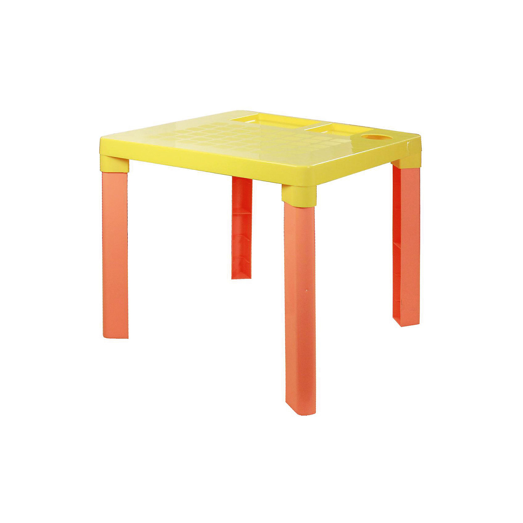 Стол детский, Alternativa, жёлтый