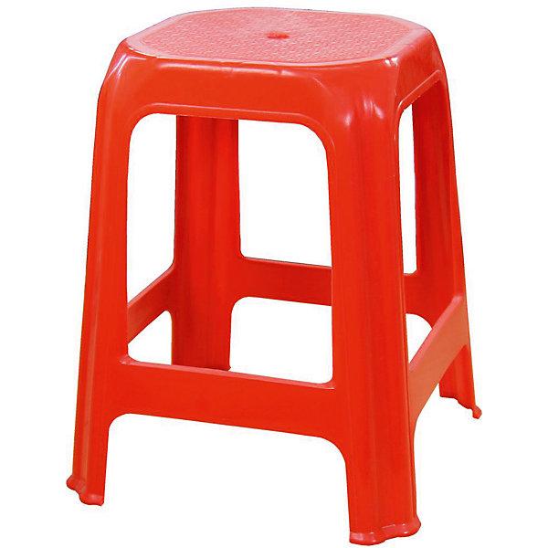 Стул (табурет), Alternativa, красныйДетские столы и стулья<br>Характеристики:<br><br>• Предназначение: для хозяйственных нужд<br>• Материал: пластик<br>• Цвет: красный<br>• Размер (Д*Ш*В):  28*28*48 см<br>• Особенности ухода: разрешается мыть <br><br>Стул (табурет), Alternativa, красный изготовлен отечественным производителем ООО ЗПИ Альтернатива, который специализируется на выпуске широкого спектра изделий и предметов мебели из пластика. Стул выполнен из экологически безопасного и прочного пластика, устойчивого к механическим повреждениям и изменению цвета. Табурет является неотъемлемым предметом кухонной мебели. Стул от Alternativa имеет устойчивую конструкцию и легкий вес. Его можно использовать как мебель для дачи. Табурет выполнен в красном цвете без рисунка.<br><br>Стул (табурет), Alternativa, красный можно купить в нашем интернет-магазине.<br>Ширина мм: 280; Глубина мм: 280; Высота мм: 480; Вес г: 742; Возраст от месяцев: 36; Возраст до месяцев: 84; Пол: Унисекс; Возраст: Детский; SKU: 5096694;