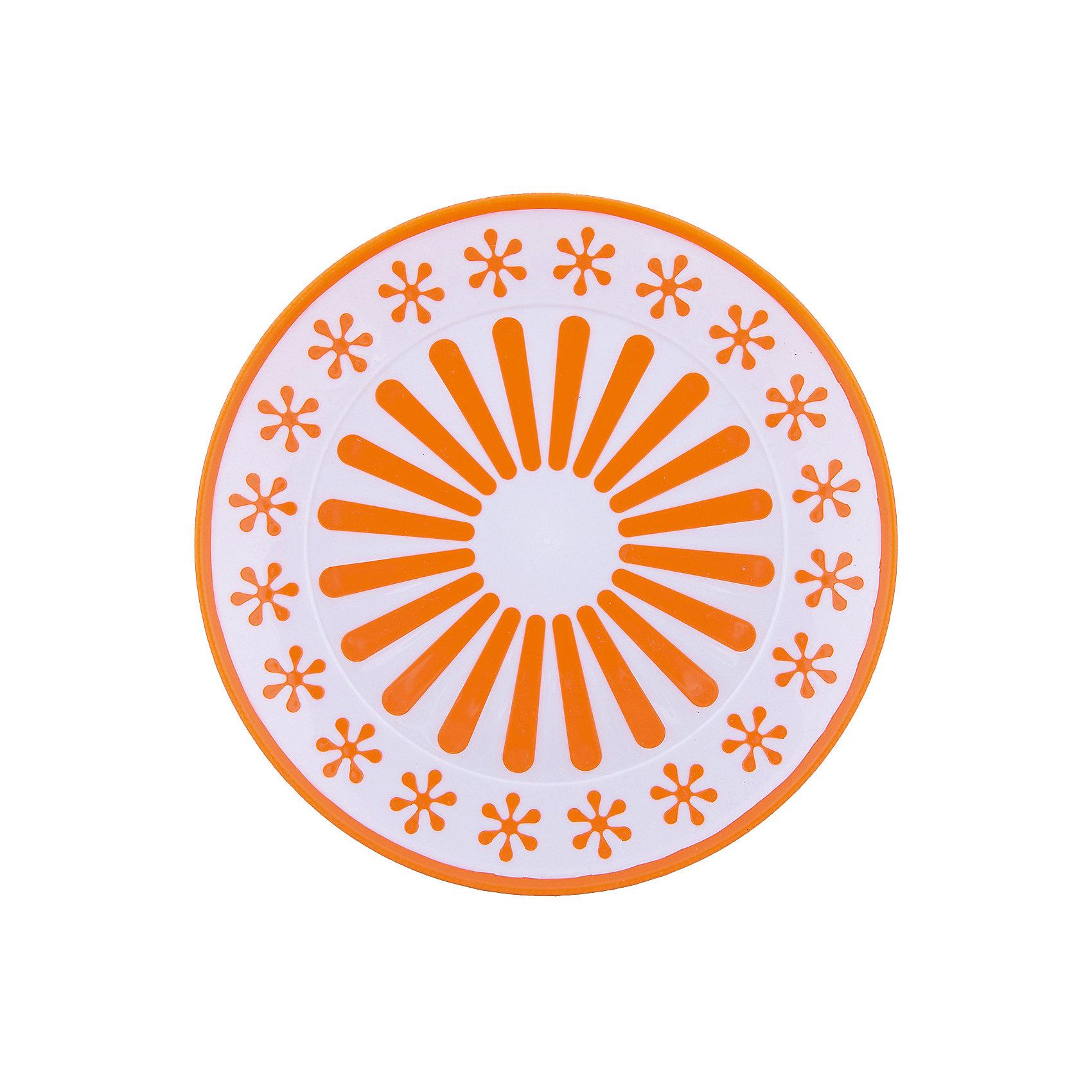 Alternativa Тарелка Валенсия, Alternativa, оранжевый-белый alternativa горка для купания alternativa розовый