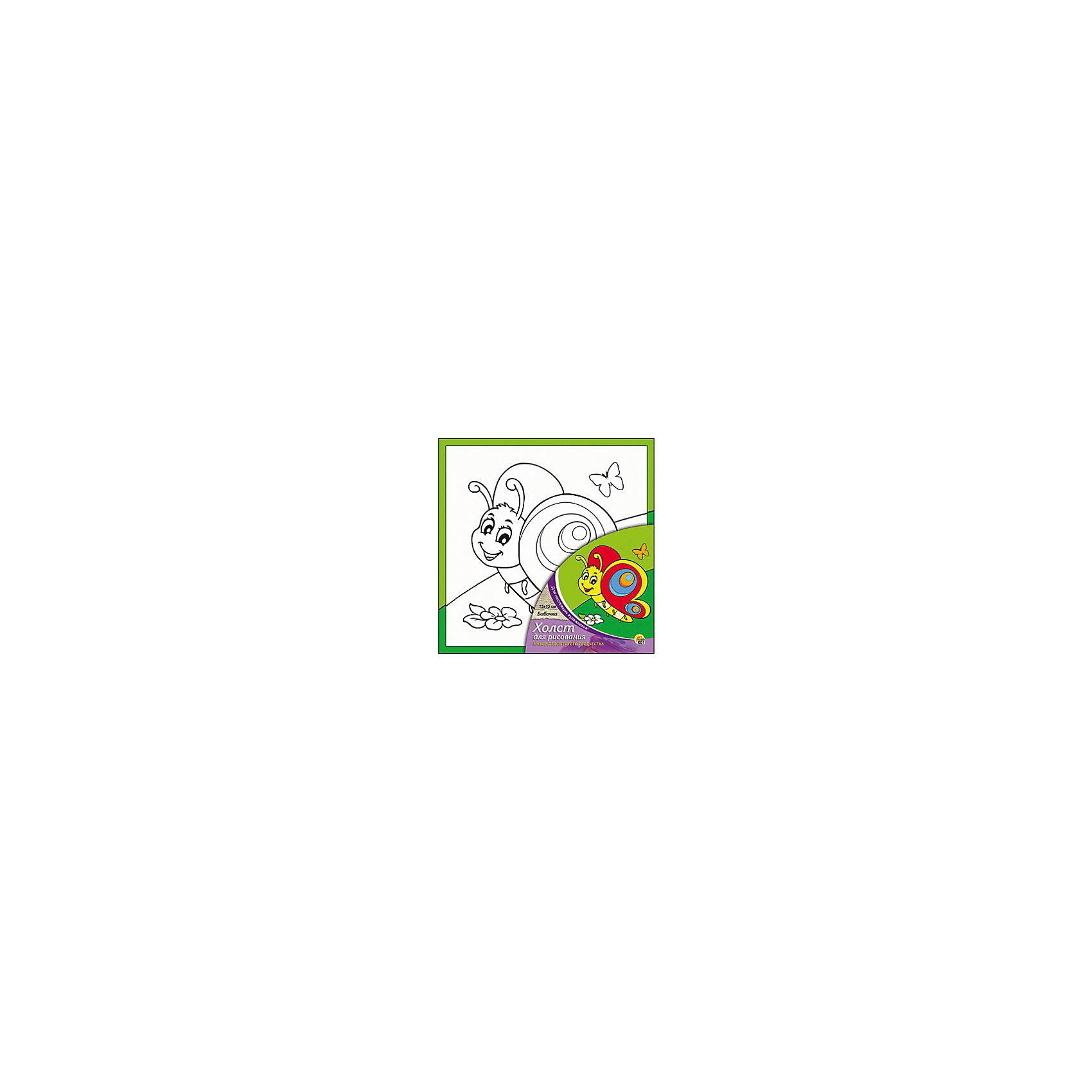 Холст с красками Бабочка  15х15 смзамечательные наборы для создания уникального шедевра изобразительного искусства. Создание картин на специально подготовленной рабочей поверхности – это уникальная техника, позволяющая делать Ваши шедевры более яркими и реалистичными. Просто нанесите мазки на уже готовый эскиз и оживите картину! Готовые изделия могут стать украшением интерьера или прекрасным подарком близким и друзьям.<br><br>Ширина мм: 150<br>Глубина мм: 150<br>Высота мм: 15<br>Вес г: 838<br>Возраст от месяцев: 36<br>Возраст до месяцев: 108<br>Пол: Унисекс<br>Возраст: Детский<br>SKU: 5096730