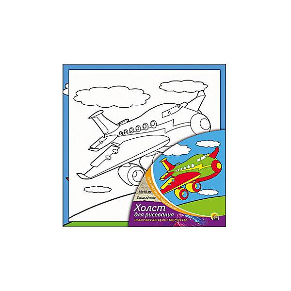 Холст с красками Самолётик 15х15 смРаскраски по номерам<br>замечательные наборы для создания уникального шедевра изобразительного искусства. Создание картин на специально подготовленной рабочей поверхности – это уникальная техника, позволяющая делать Ваши шедевры более яркими и реалистичными. Просто нанесите мазки на уже готовый эскиз и оживите картину! Готовые изделия могут стать украшением интерьера или прекрасным подарком близким и друзьям.<br><br>Ширина мм: 150<br>Глубина мм: 150<br>Высота мм: 15<br>Вес г: 838<br>Возраст от месяцев: 36<br>Возраст до месяцев: 108<br>Пол: Унисекс<br>Возраст: Детский<br>SKU: 5096734