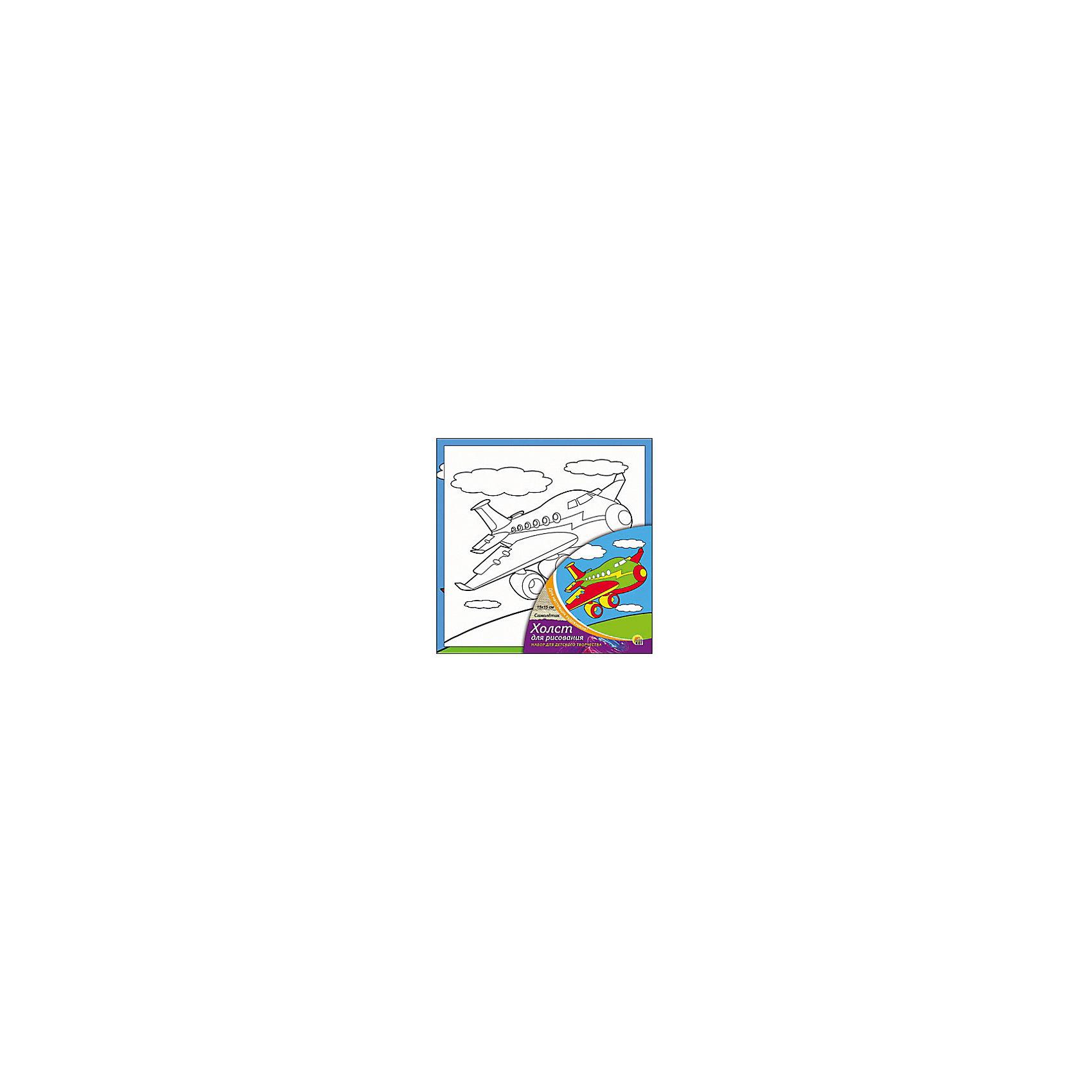 Холст с красками Самолётик 15х15 смРисование<br>замечательные наборы для создания уникального шедевра изобразительного искусства. Создание картин на специально подготовленной рабочей поверхности – это уникальная техника, позволяющая делать Ваши шедевры более яркими и реалистичными. Просто нанесите мазки на уже готовый эскиз и оживите картину! Готовые изделия могут стать украшением интерьера или прекрасным подарком близким и друзьям.<br><br>Ширина мм: 150<br>Глубина мм: 150<br>Высота мм: 15<br>Вес г: 838<br>Возраст от месяцев: 36<br>Возраст до месяцев: 108<br>Пол: Унисекс<br>Возраст: Детский<br>SKU: 5096734