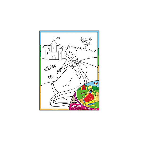 Холст с красками Принцесса 18х24 смРаскраски по номерам<br>замечательные наборы для создания уникального шедевра изобразительного искусства. Создание картин на специально подготовленной рабочей поверхности – это уникальная техника, позволяющая делать Ваши шедевры более яркими и реалистичными. Просто нанесите мазки на уже готовый эскиз и оживите картину! Готовые изделия могут стать украшением интерьера или прекрасным подарком близким и друзьям.<br><br>Ширина мм: 180<br>Глубина мм: 240<br>Высота мм: 15<br>Вес г: 1075<br>Возраст от месяцев: 36<br>Возраст до месяцев: 108<br>Пол: Унисекс<br>Возраст: Детский<br>SKU: 5096736