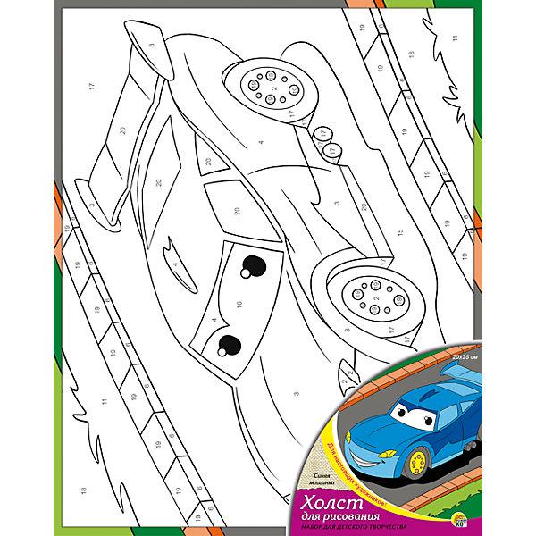 Холст с красками по номерам Синяя машинка 20х25 смРаскраски по номерам<br>замечательные наборы для создания уникального шедевра изобразительного искусства. Создание картин на специально подготовленной рабочей поверхности – это уникальная техника, позволяющая делать Ваши шедевры более яркими и реалистичными. Просто нанесите мазки на уже готовый эскиз и оживите картину! Готовые изделия могут стать украшением интерьера или прекрасным подарком близким и друзьям.<br><br>Ширина мм: 200<br>Глубина мм: 250<br>Высота мм: 15<br>Вес г: 417<br>Возраст от месяцев: 36<br>Возраст до месяцев: 108<br>Пол: Унисекс<br>Возраст: Детский<br>SKU: 5096740