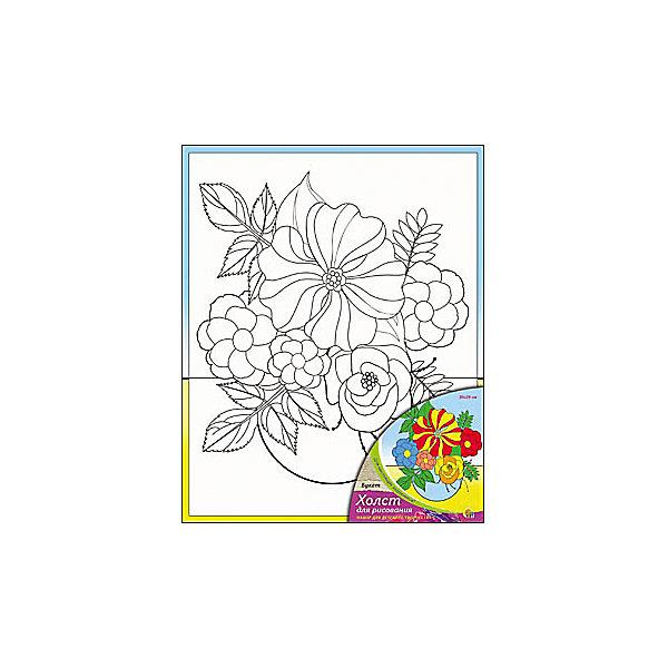 Холст с красками по номерам Букет 20х25 смРаскраски по номерам<br>замечательные наборы для создания уникального шедевра изобразительного искусства. Создание картин на специально подготовленной рабочей поверхности – это уникальная техника, позволяющая делать Ваши шедевры более яркими и реалистичными. Просто нанесите мазки на уже готовый эскиз и оживите картину! Готовые изделия могут стать украшением интерьера или прекрасным подарком близким и друзьям.<br><br>Ширина мм: 200<br>Глубина мм: 250<br>Высота мм: 15<br>Вес г: 1250<br>Возраст от месяцев: 36<br>Возраст до месяцев: 108<br>Пол: Унисекс<br>Возраст: Детский<br>SKU: 5096741
