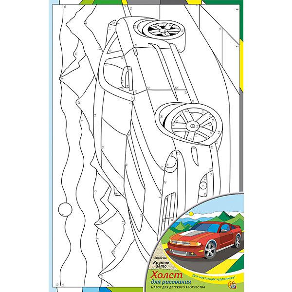 Холст с красками по номерам Крутое авто 20х30 смРаскраски по номерам<br>замечательные наборы для создания уникального шедевра изобразительного искусства. Создание картин на специально подготовленной рабочей поверхности – это уникальная техника, позволяющая делать Ваши шедевры более яркими и реалистичными. Просто нанесите мазки на уже готовый эскиз и оживите картину! Готовые изделия могут стать украшением интерьера или прекрасным подарком близким и друзьям.<br><br>Ширина мм: 200<br>Глубина мм: 300<br>Высота мм: 15<br>Вес г: 933<br>Возраст от месяцев: 36<br>Возраст до месяцев: 108<br>Пол: Унисекс<br>Возраст: Детский<br>SKU: 5096742