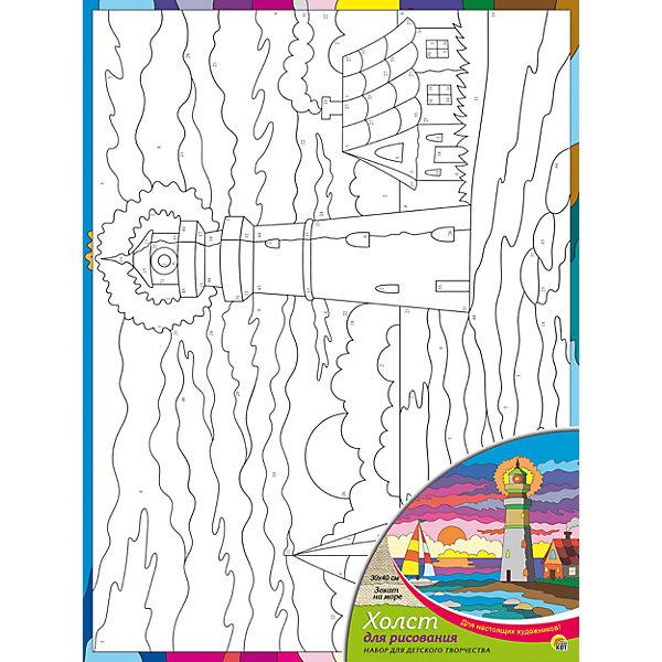 Холст с красками по номерам Закат на море 30х40 смРаскраски по номерам<br>замечательные наборы для создания уникального шедевра изобразительного искусства. Создание картин на специально подготовленной рабочей поверхности – это уникальная техника, позволяющая делать Ваши шедевры более яркими и реалистичными. Просто нанесите мазки на уже готовый эскиз и оживите картину! Готовые изделия могут стать украшением интерьера или прекрасным подарком близким и друзьям.<br>Ширина мм: 300; Глубина мм: 400; Высота мм: 15; Вес г: 367; Возраст от месяцев: 36; Возраст до месяцев: 108; Пол: Унисекс; Возраст: Детский; SKU: 5096746;