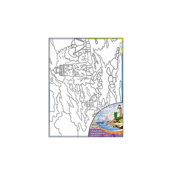 Холст с красками Маяк и море 30х40 смРаскраски по номерам<br>замечательные наборы для создания уникального шедевра изобразительного искусства. Создание картин на специально подготовленной рабочей поверхности – это уникальная техника, позволяющая делать Ваши шедевры более яркими и реалистичными. Просто нанесите мазки на уже готовый эскиз и оживите картину! Готовые изделия могут стать украшением интерьера или прекрасным подарком близким и друзьям.<br>Ширина мм: 300; Глубина мм: 400; Высота мм: 15; Вес г: 367; Возраст от месяцев: 36; Возраст до месяцев: 108; Пол: Унисекс; Возраст: Детский; SKU: 5096749;