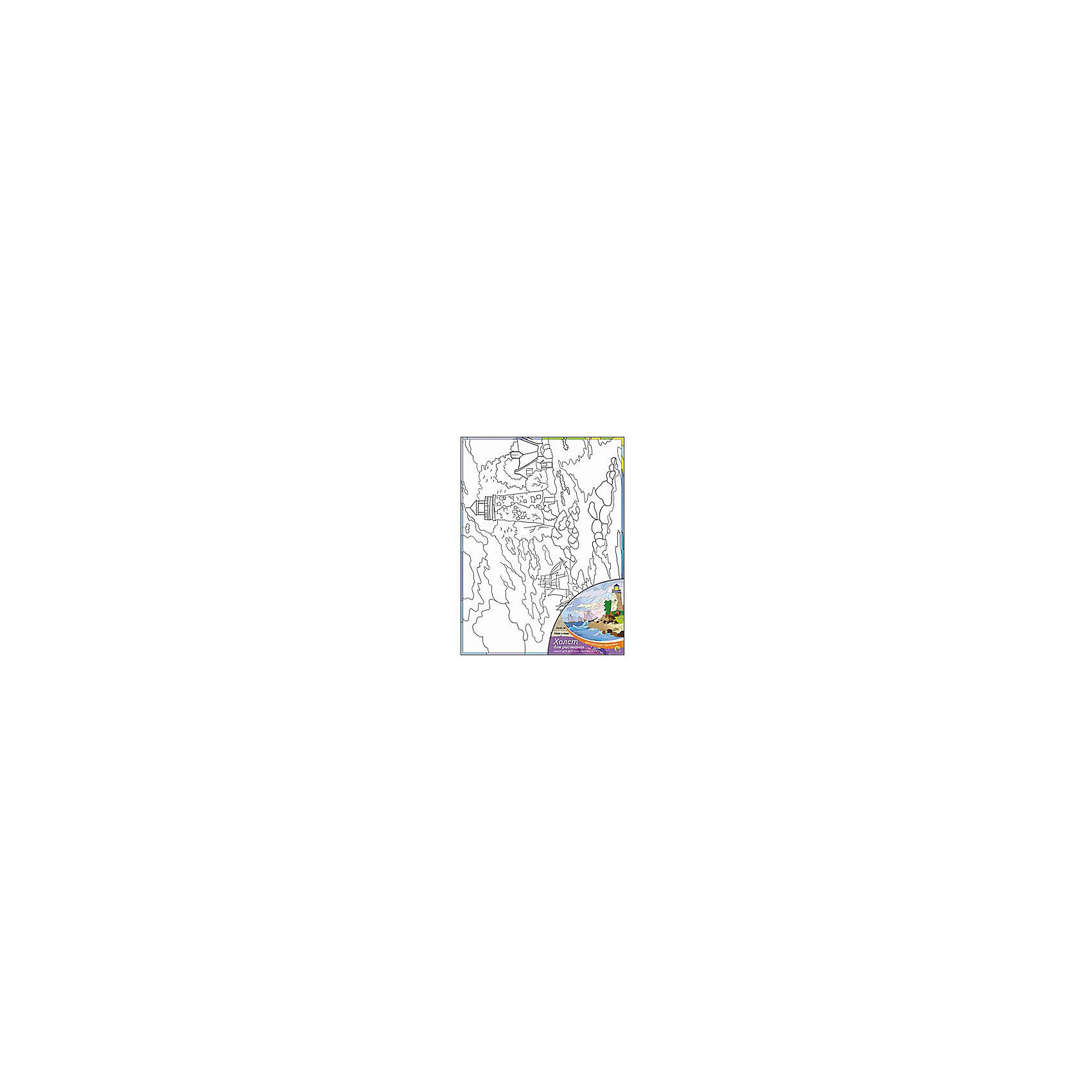 Холст с красками Маяк и море 30х40 смРисование<br>замечательные наборы для создания уникального шедевра изобразительного искусства. Создание картин на специально подготовленной рабочей поверхности – это уникальная техника, позволяющая делать Ваши шедевры более яркими и реалистичными. Просто нанесите мазки на уже готовый эскиз и оживите картину! Готовые изделия могут стать украшением интерьера или прекрасным подарком близким и друзьям.<br><br>Ширина мм: 300<br>Глубина мм: 400<br>Высота мм: 15<br>Вес г: 367<br>Возраст от месяцев: 36<br>Возраст до месяцев: 108<br>Пол: Унисекс<br>Возраст: Детский<br>SKU: 5096749
