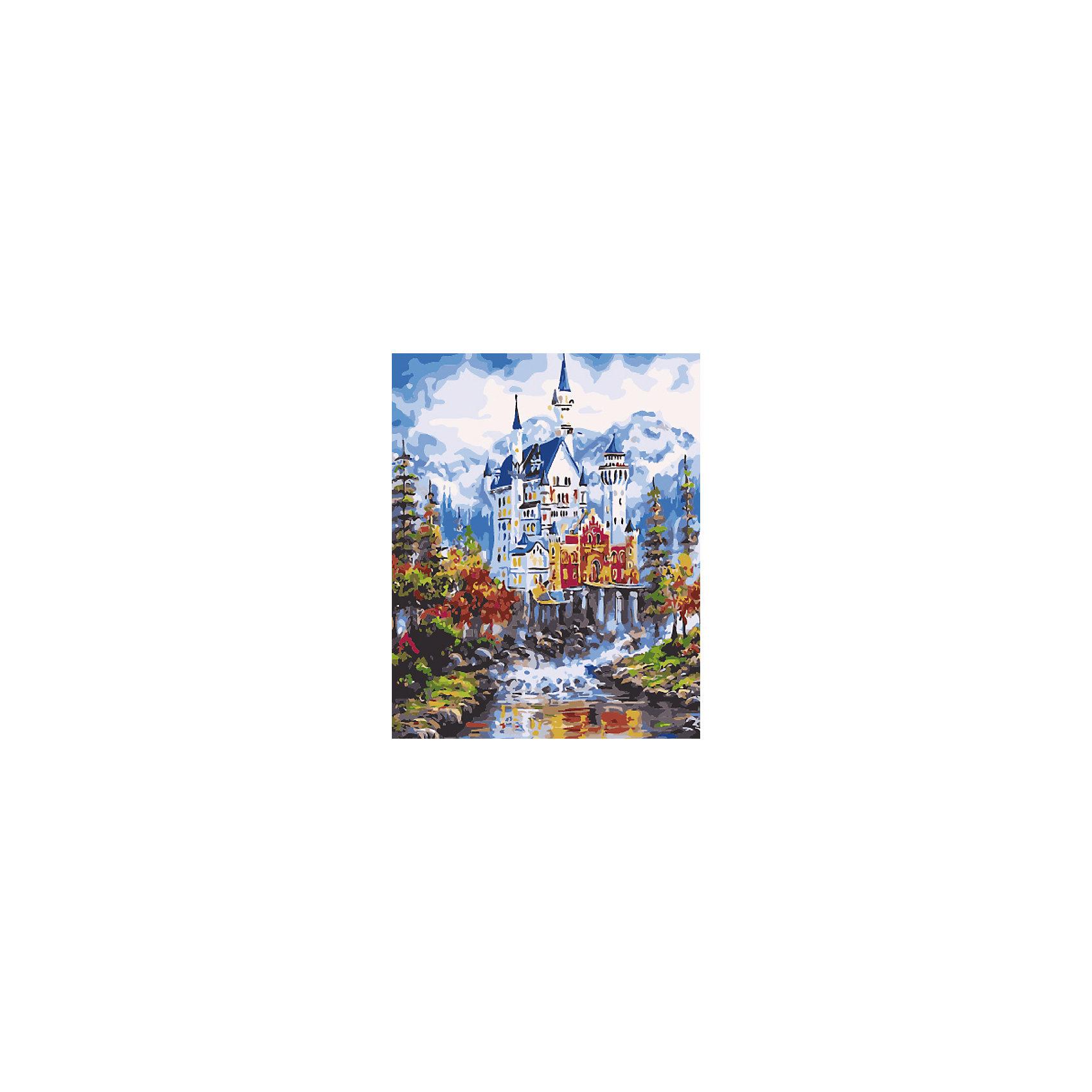Холст с красками по номерам Величественный замок в горах 40х50 смзамечательные наборы для создания уникального шедевра изобразительного искусства. Создание картин на специально подготовленной рабочей поверхности – это уникальная техника, позволяющая делать Ваши шедевры более яркими и реалистичными. Просто нанесите мазки на уже готовый эскиз и оживите картину! Готовые изделия могут стать украшением интерьера или прекрасным подарком близким и друзьям.<br><br>Ширина мм: 510<br>Глубина мм: 410<br>Высота мм: 25<br>Вес г: 900<br>Возраст от месяцев: 36<br>Возраст до месяцев: 108<br>Пол: Унисекс<br>Возраст: Детский<br>SKU: 5096754
