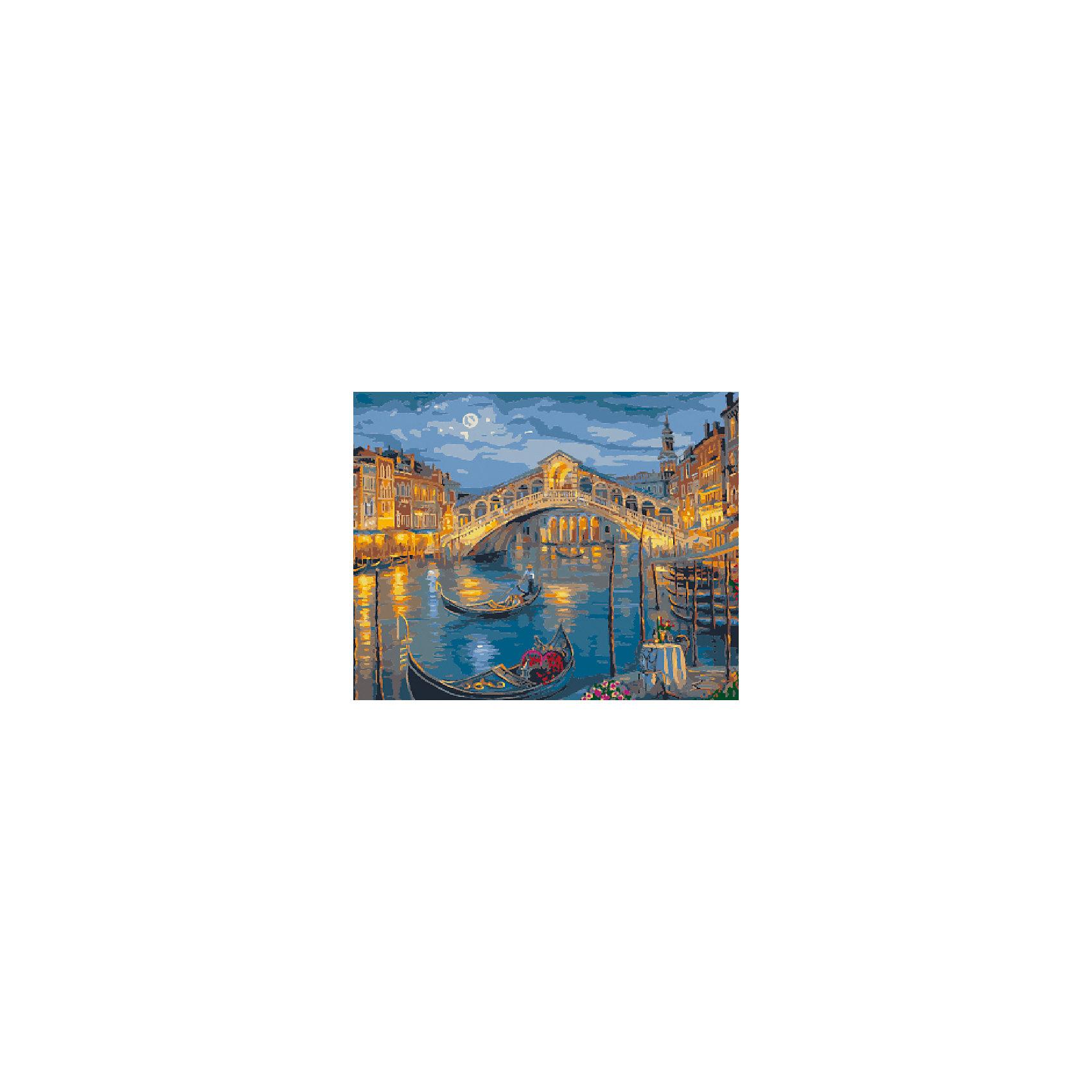 Холст с красками по номерам Венеция, мост Риальто 40х50 смРисование<br>замечательные наборы для создания уникального шедевра изобразительного искусства. Создание картин на специально подготовленной рабочей поверхности – это уникальная техника, позволяющая делать Ваши шедевры более яркими и реалистичными. Просто нанесите мазки на уже готовый эскиз и оживите картину! Готовые изделия могут стать украшением интерьера или прекрасным подарком близким и друзьям.<br><br>Ширина мм: 510<br>Глубина мм: 410<br>Высота мм: 25<br>Вес г: 900<br>Возраст от месяцев: 36<br>Возраст до месяцев: 108<br>Пол: Унисекс<br>Возраст: Детский<br>SKU: 5096755