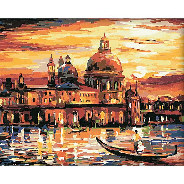 Холст с красками по номерам Вечерняя Венеция 40х50 смРаскраски по номерам<br>замечательные наборы для создания уникального шедевра изобразительного искусства. Создание картин на специально подготовленной рабочей поверхности – это уникальная техника, позволяющая делать Ваши шедевры более яркими и реалистичными. Просто нанесите мазки на уже готовый эскиз и оживите картину! Готовые изделия могут стать украшением интерьера или прекрасным подарком близким и друзьям.<br><br>Ширина мм: 510<br>Глубина мм: 410<br>Высота мм: 25<br>Вес г: 900<br>Возраст от месяцев: 36<br>Возраст до месяцев: 108<br>Пол: Унисекс<br>Возраст: Детский<br>SKU: 5096756