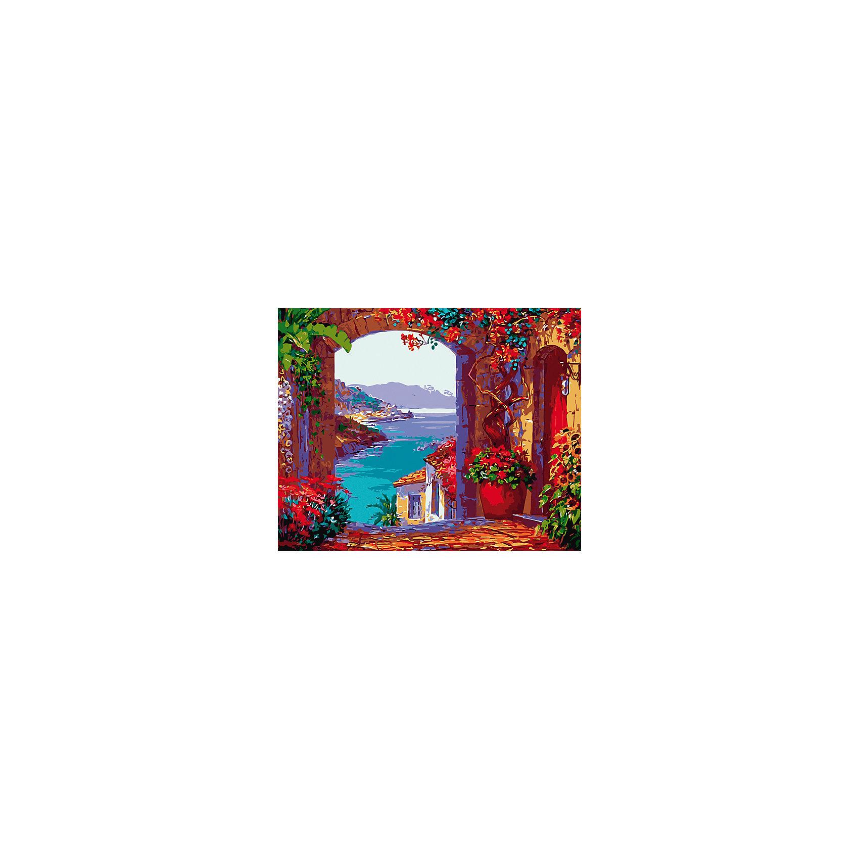 Холст с красками по номерам Романтичный вид на море 40х50 смРисование<br>замечательные наборы для создания уникального шедевра изобразительного искусства. Создание картин на специально подготовленной рабочей поверхности – это уникальная техника, позволяющая делать Ваши шедевры более яркими и реалистичными. Просто нанесите мазки на уже готовый эскиз и оживите картину! Готовые изделия могут стать украшением интерьера или прекрасным подарком близким и друзьям.<br><br>Ширина мм: 510<br>Глубина мм: 410<br>Высота мм: 25<br>Вес г: 900<br>Возраст от месяцев: 36<br>Возраст до месяцев: 108<br>Пол: Унисекс<br>Возраст: Детский<br>SKU: 5096783