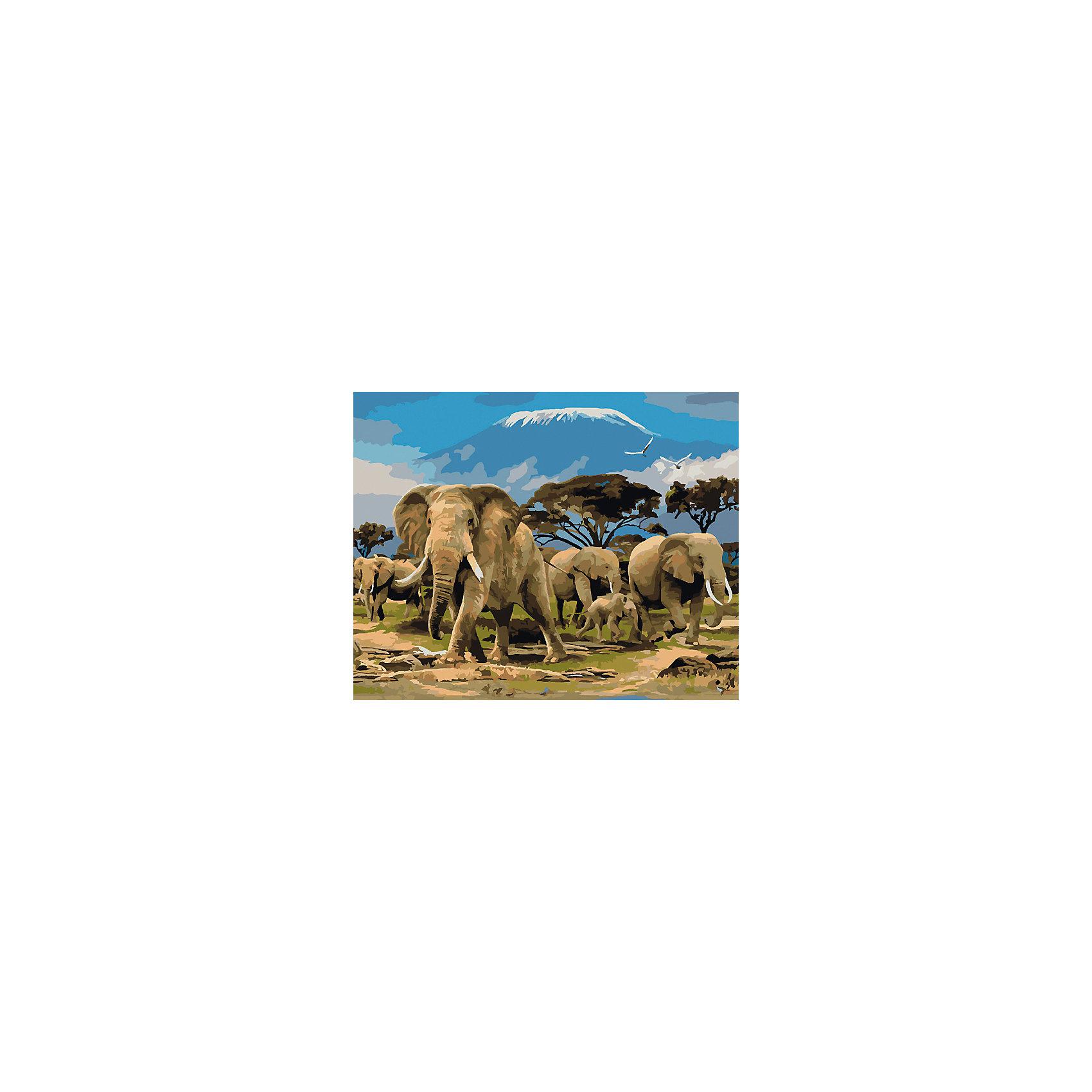 Холст с красками по номерам Семья слонов 40х50 смРисование<br>замечательные наборы для создания уникального шедевра изобразительного искусства. Создание картин на специально подготовленной рабочей поверхности – это уникальная техника, позволяющая делать Ваши шедевры более яркими и реалистичными. Просто нанесите мазки на уже готовый эскиз и оживите картину! Готовые изделия могут стать украшением интерьера или прекрасным подарком близким и друзьям.<br><br>Ширина мм: 510<br>Глубина мм: 410<br>Высота мм: 25<br>Вес г: 1800<br>Возраст от месяцев: 36<br>Возраст до месяцев: 108<br>Пол: Унисекс<br>Возраст: Детский<br>SKU: 5096785